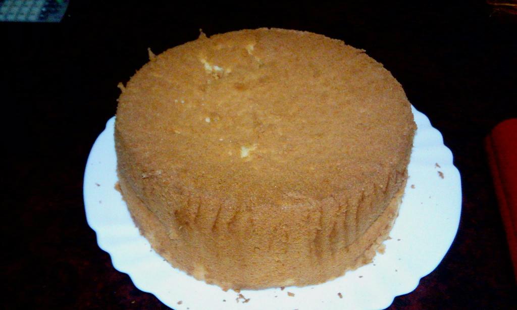 蜂蜜檸檬戚風蛋糕