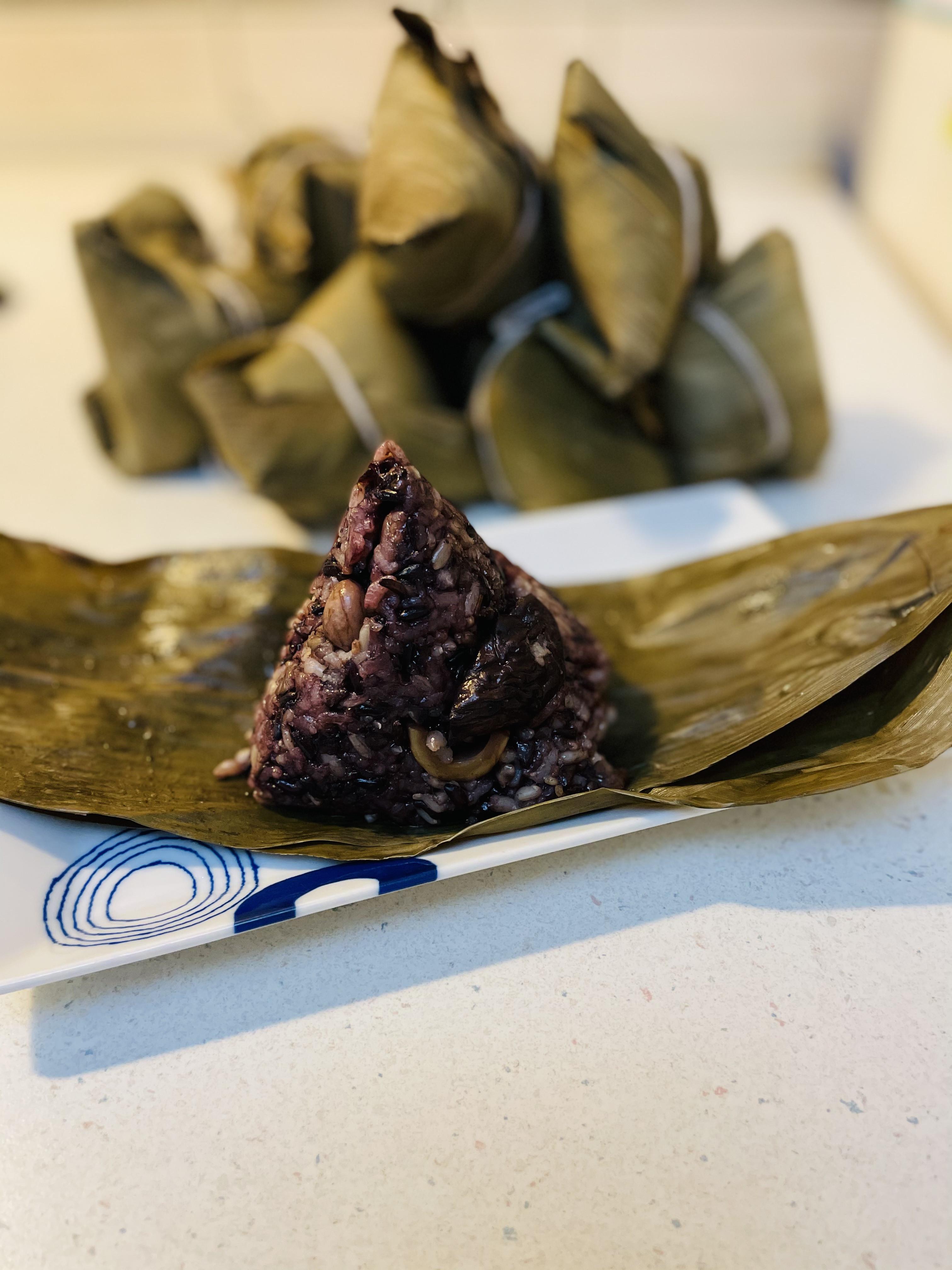 雜糧紫米粽