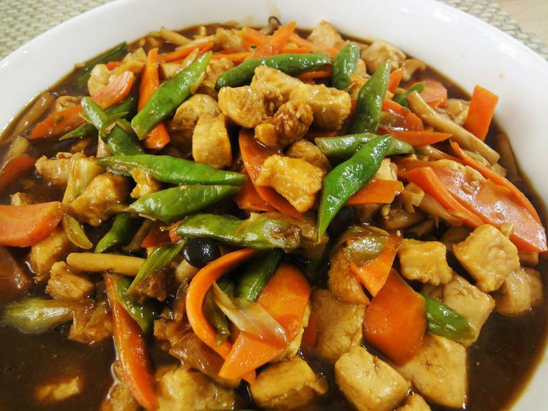 有心食譜:火雞鹹蛋豆腐煲
