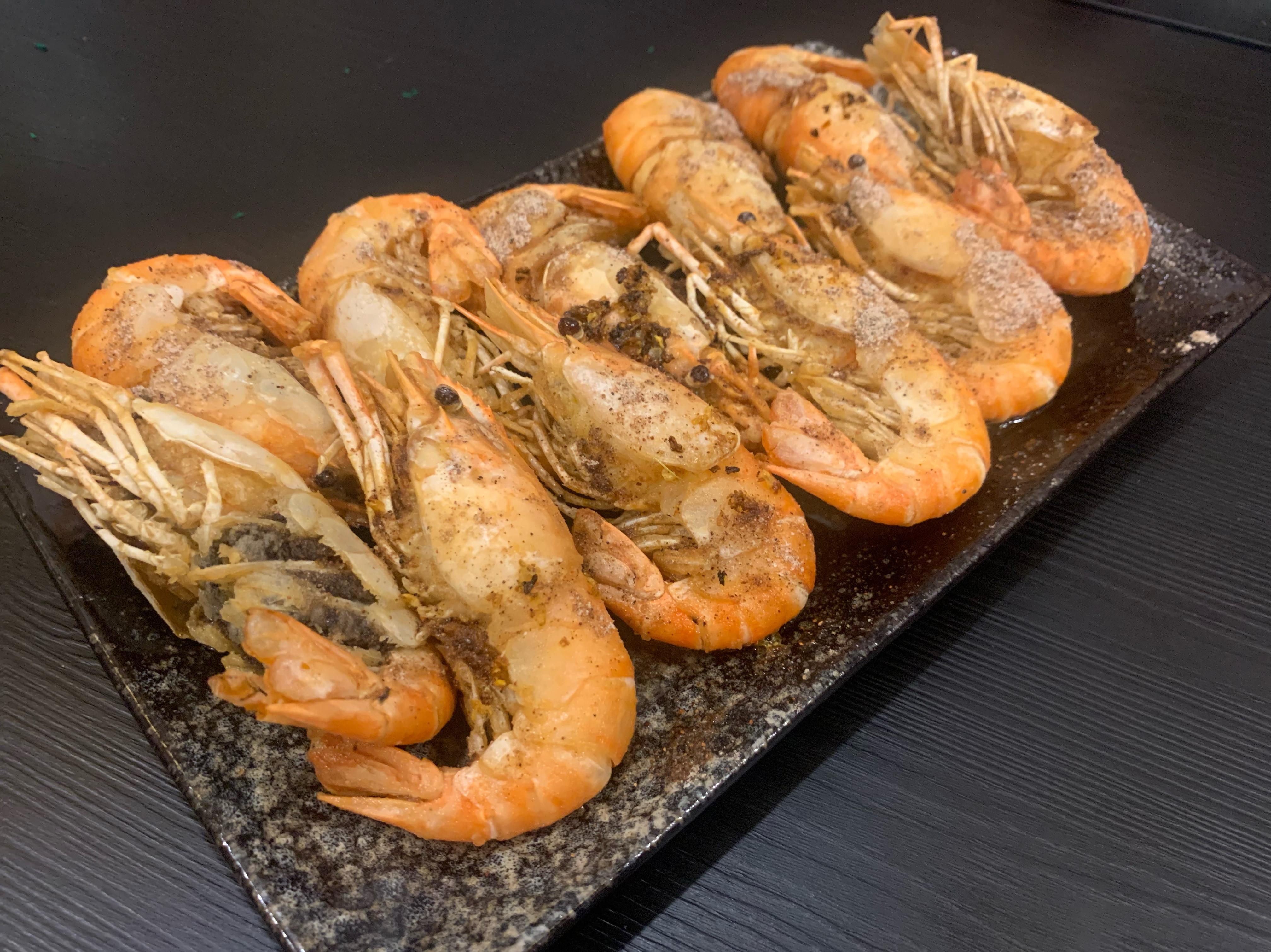 青檸泰國蝦