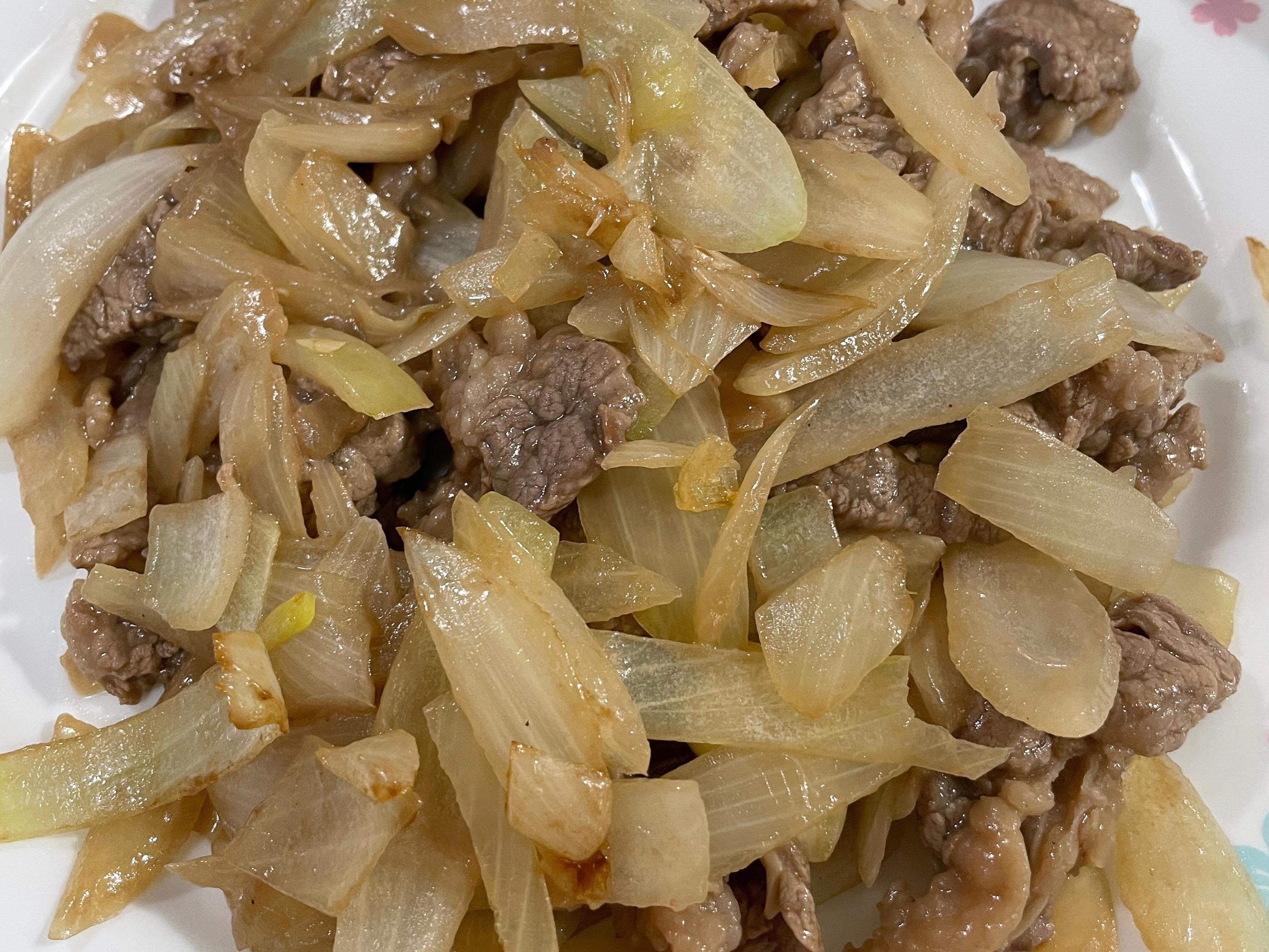 牛肉炒洋蔥