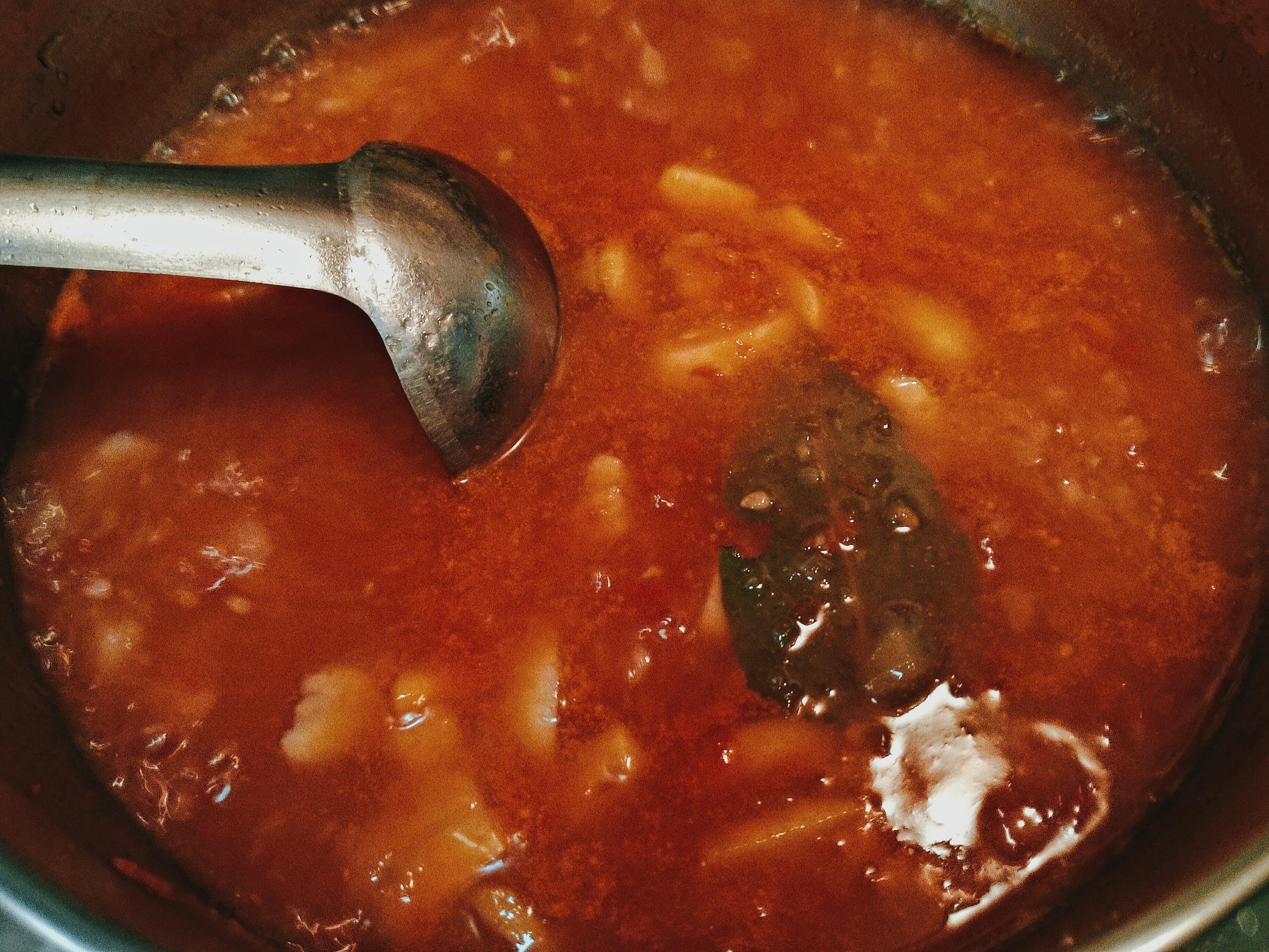 義式蕃茄雞肉湯