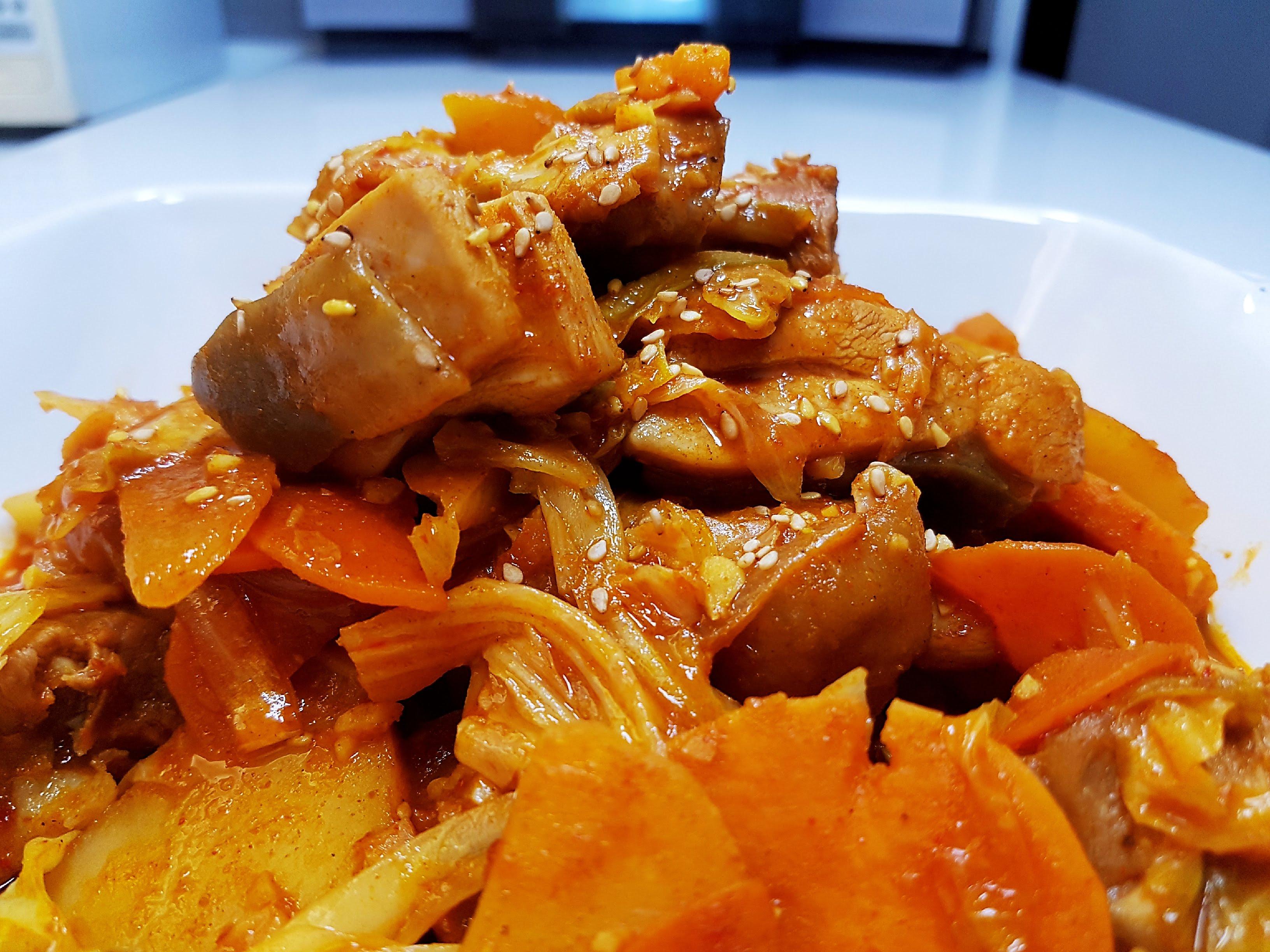 辣炒雞排 (春川辣炒雞)