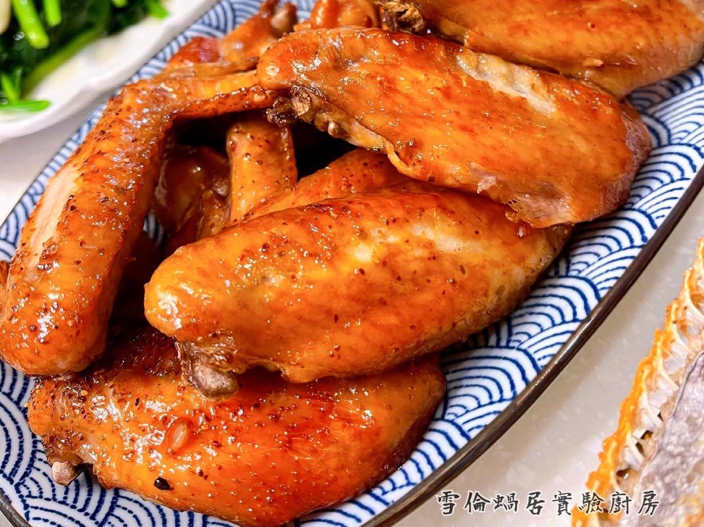 蒜味蜂蜜烤雞翅