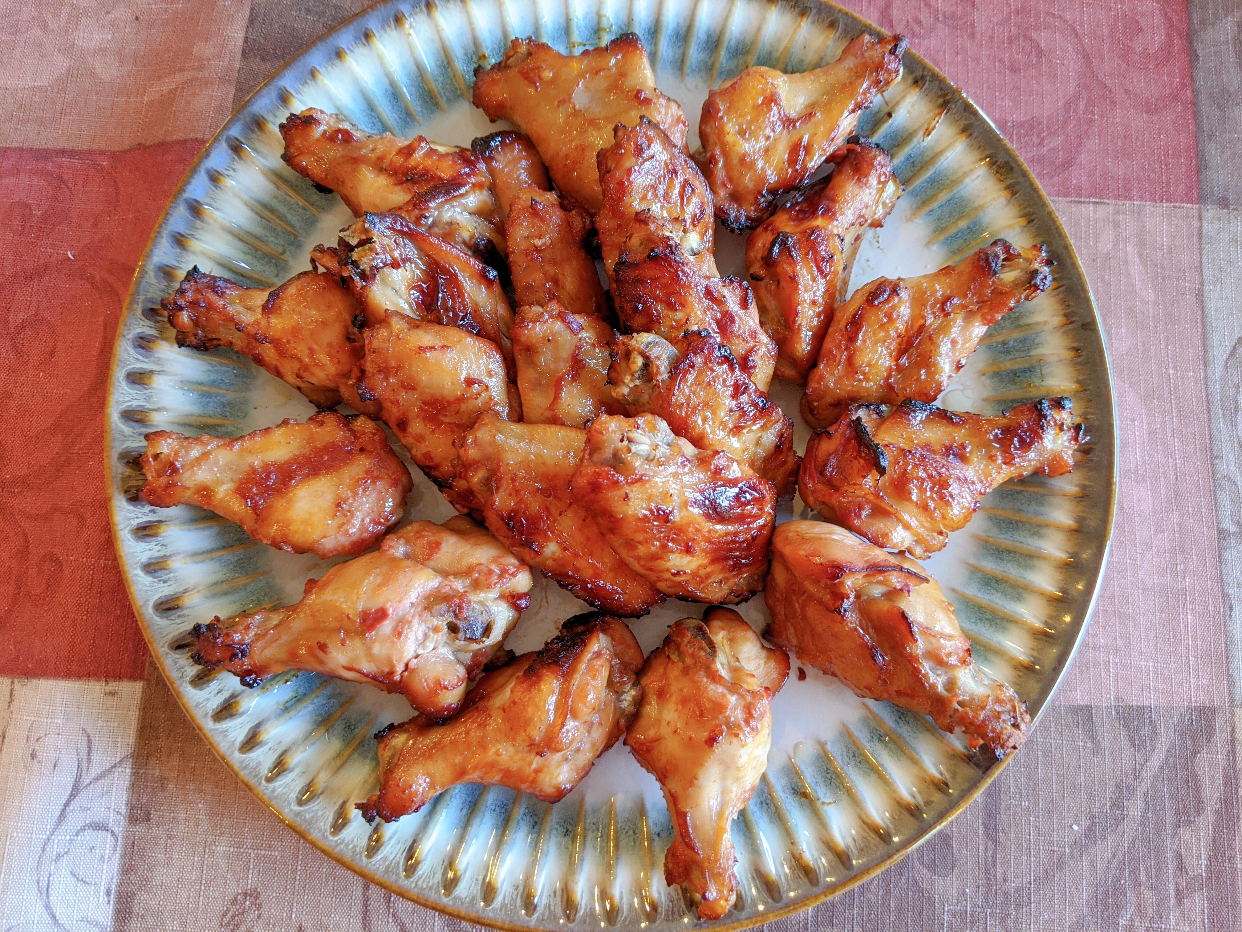腐乳烤雞翅