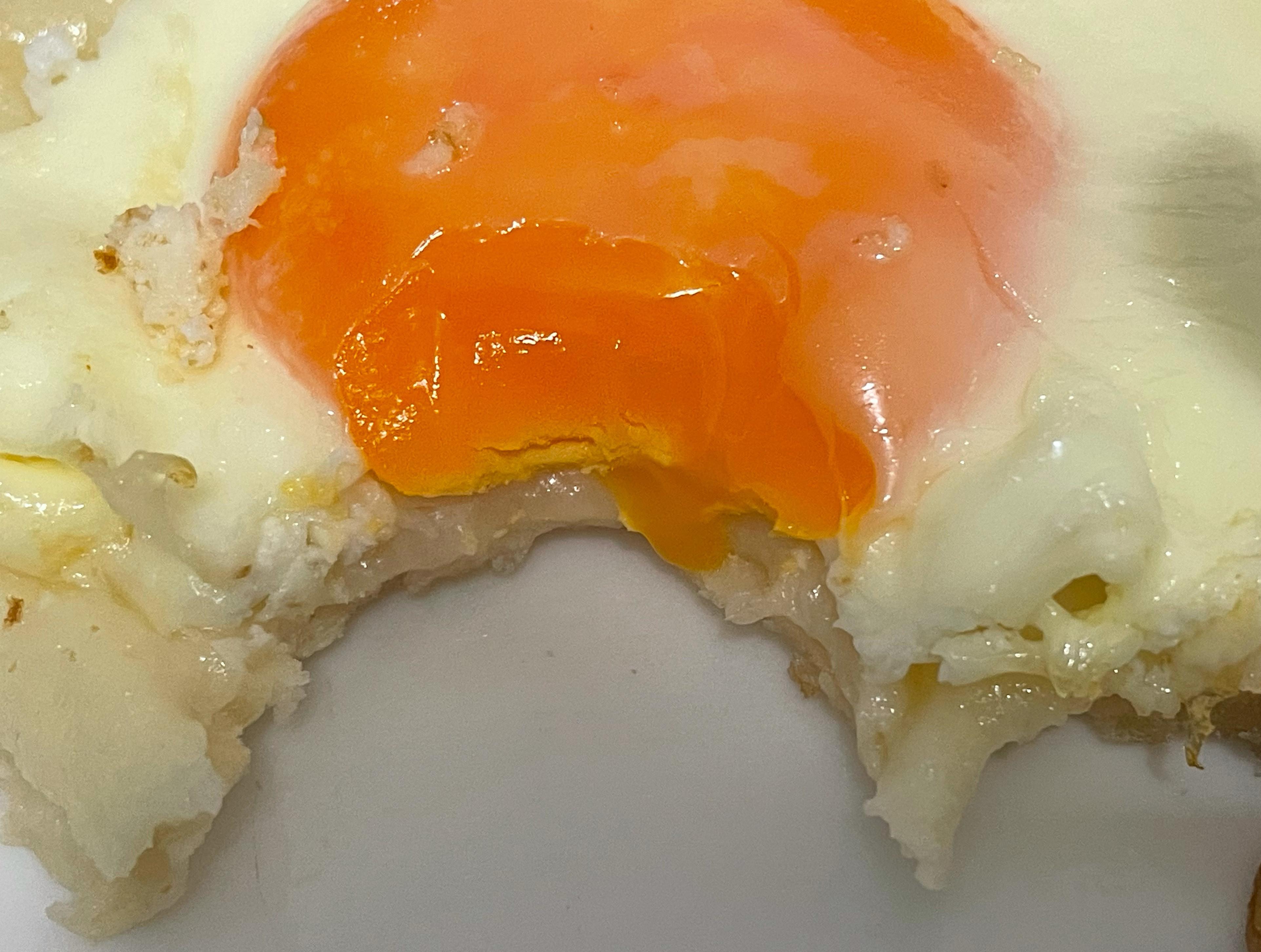 半熟月見蛋早餐/零廚藝烤箱料理
