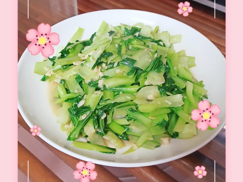 蒜香青江菜(炒青菜)