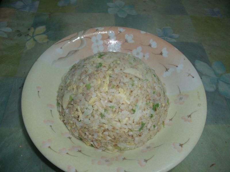 阿基師的撇步--粒粒鬆軟的鮪魚蛋炒飯