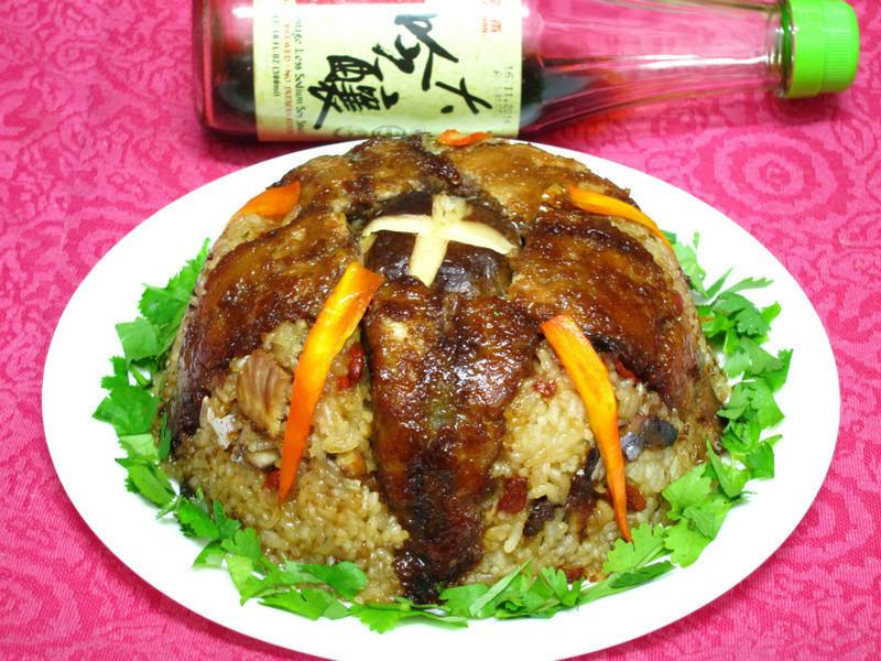 【萬家香大吟釀薄鹽醬油】蒲燒秋刀魚米糕
