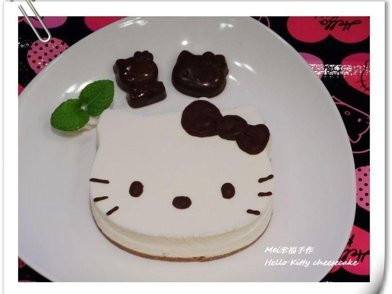 【Hello Kitty 生乳酪蛋糕】