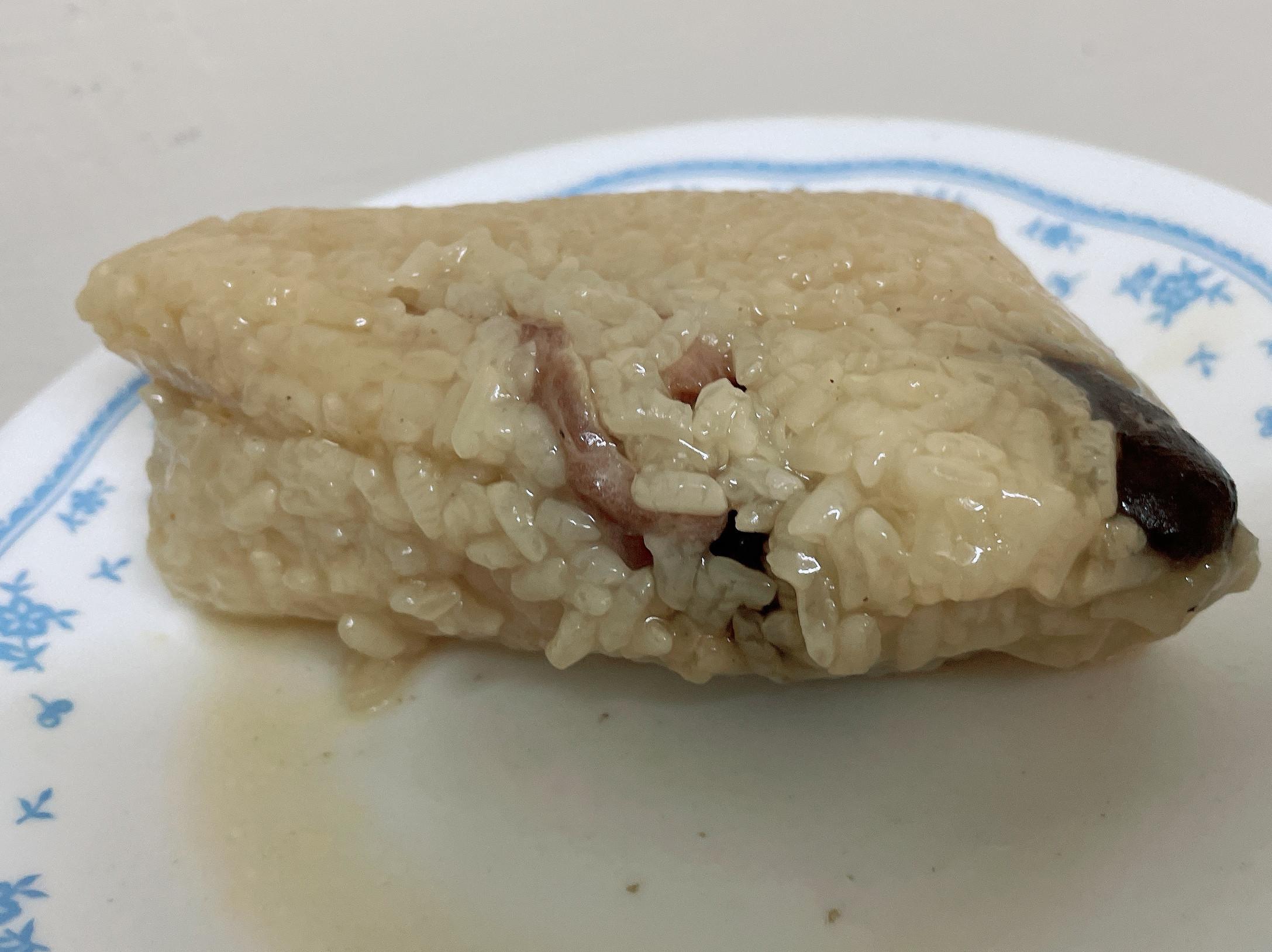 湖州粽(米較軟爛)