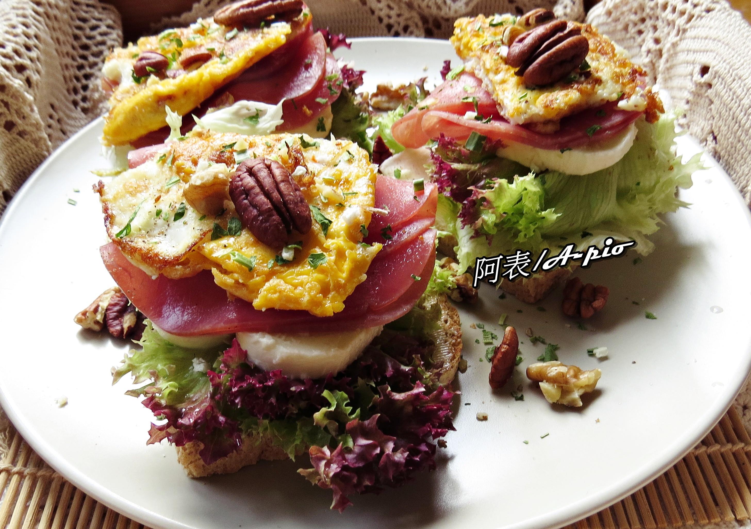 鮭魚火腿三明治
