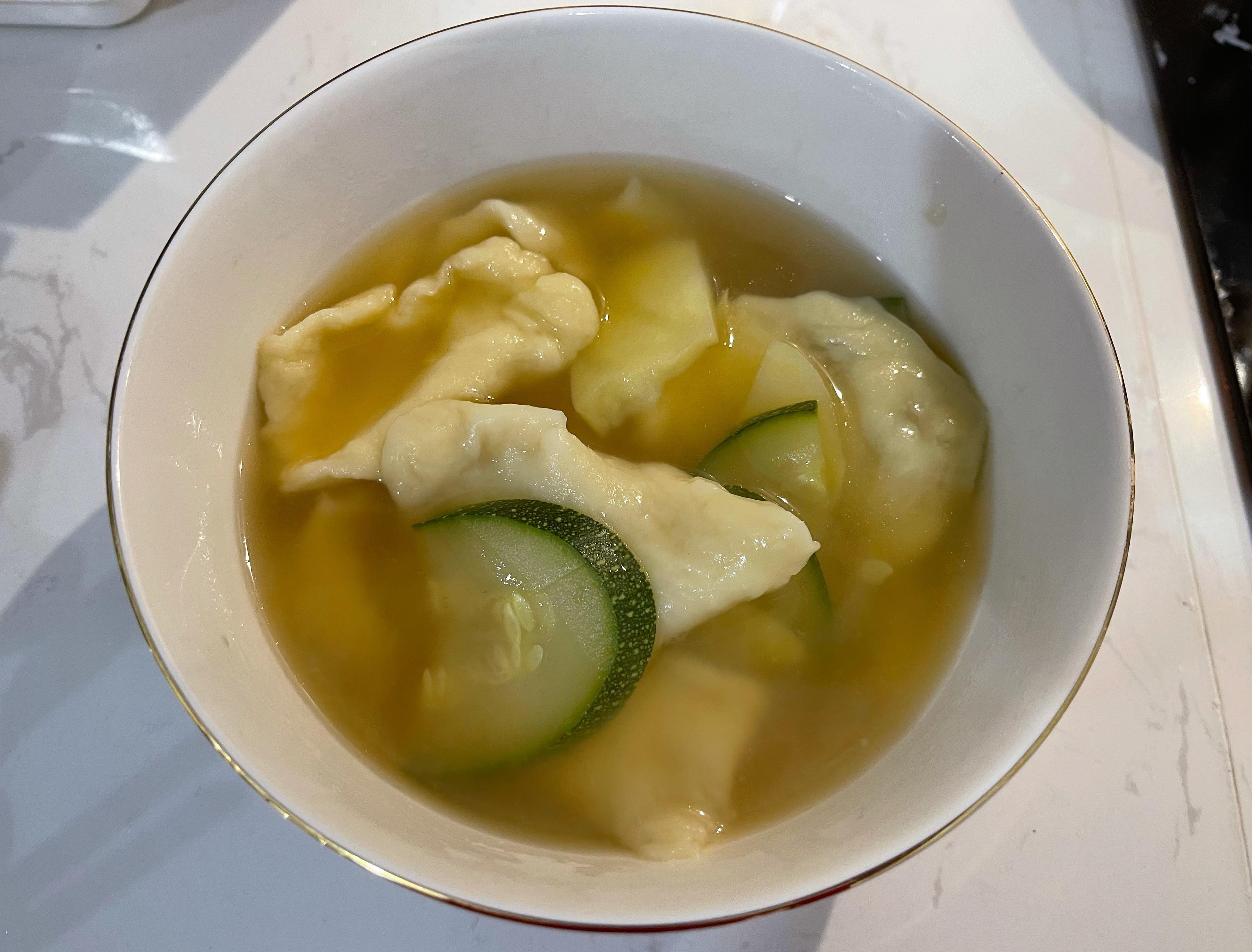 韓式麵疙瘩 수제비