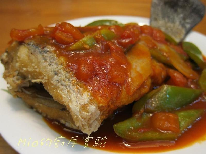 【萬家香大吟釀薄鹽醬油】茄汁扒魚