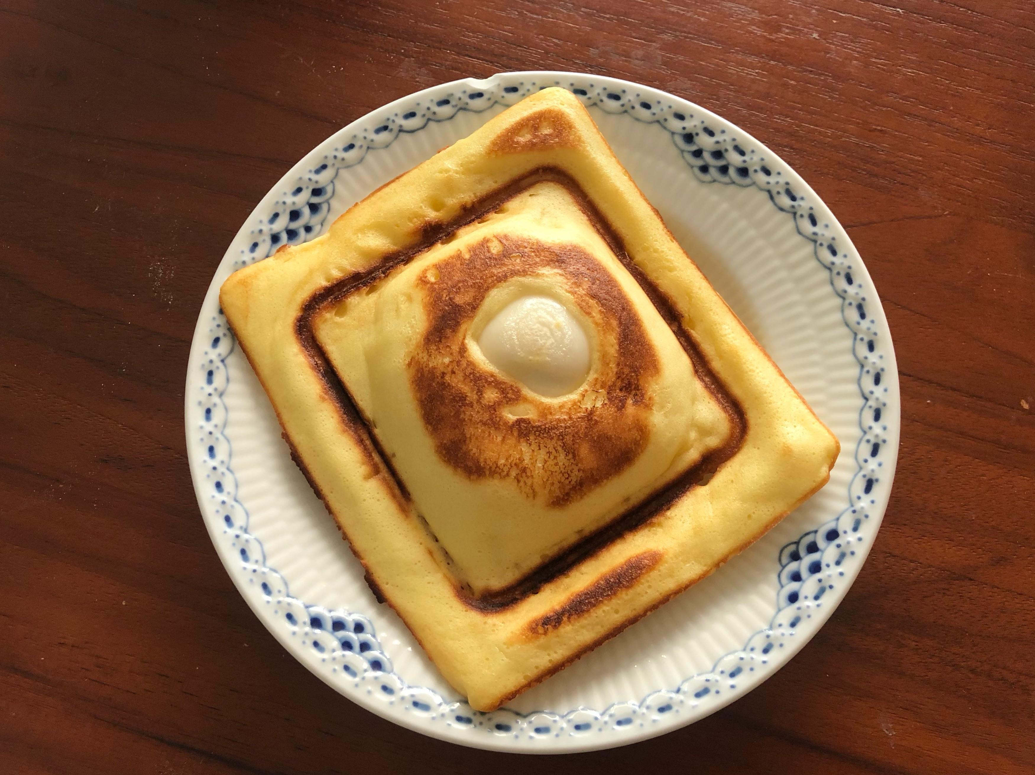 小V食譜-花生麻糬雞蛋糕