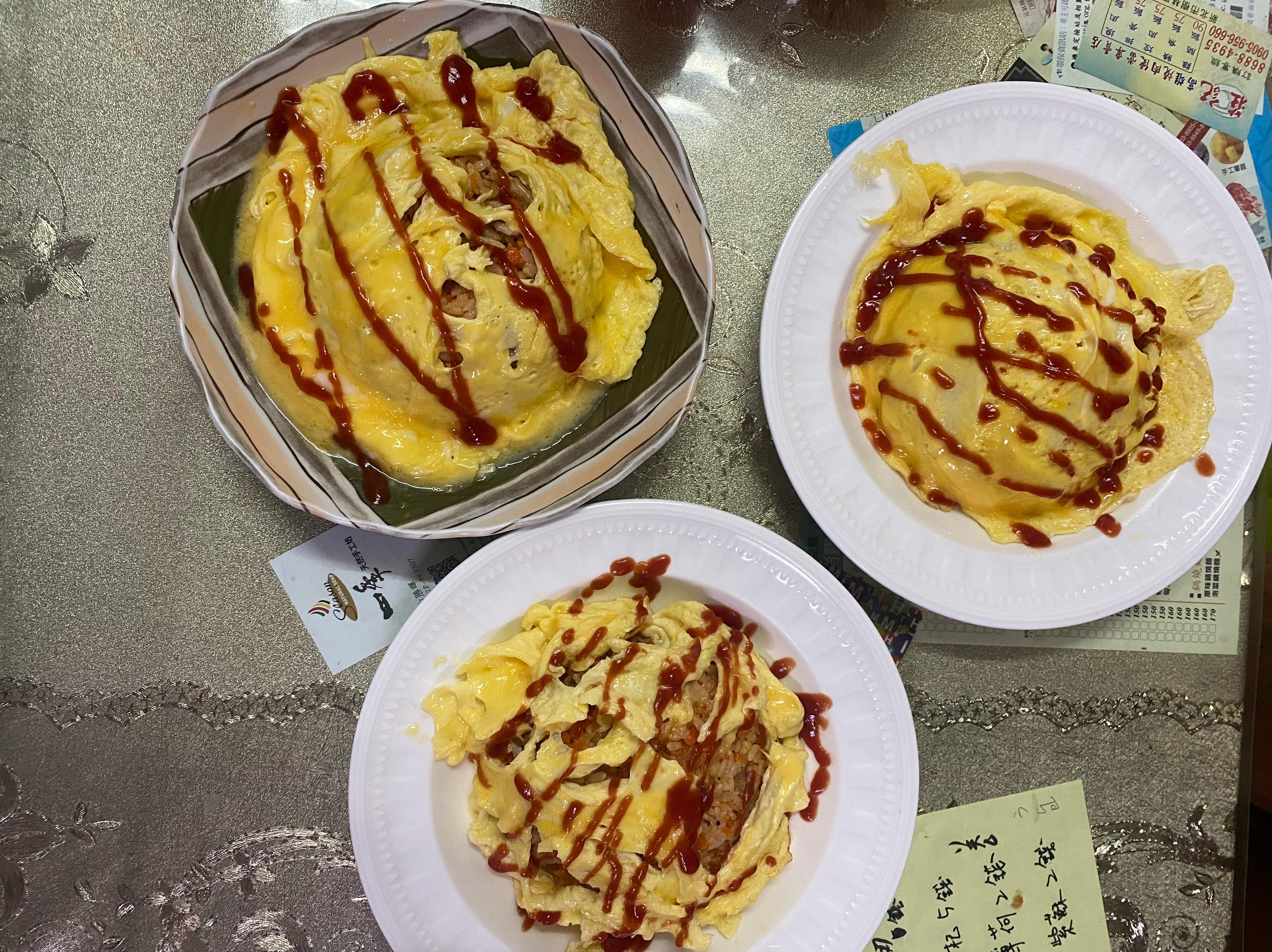 雞肉番茄歐姆蛋蓋飯