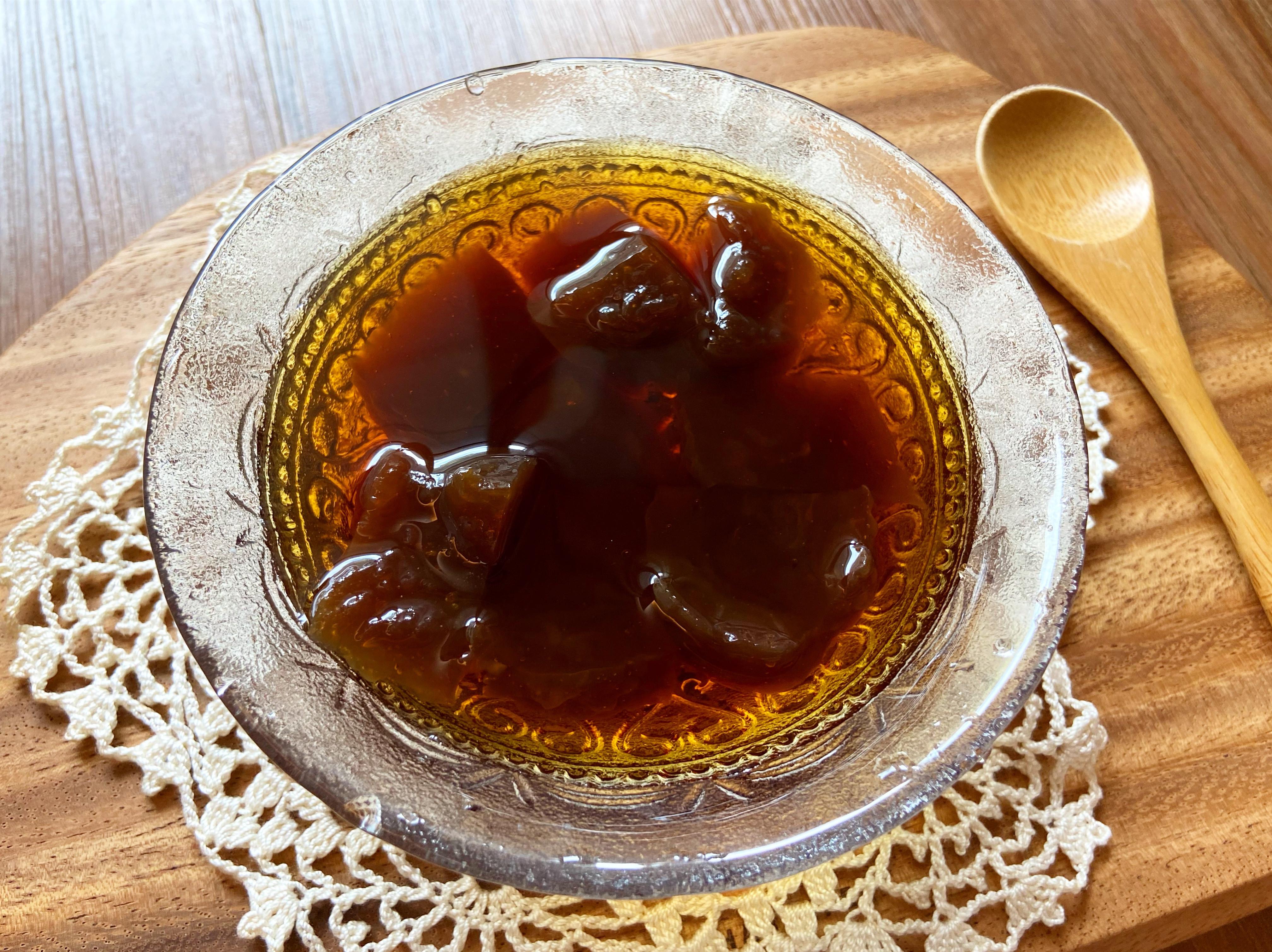 黑糖粉粿~蓮藕粉版本