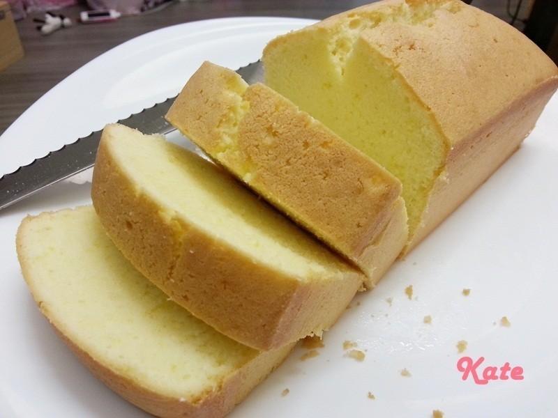 【Kate午後烘焙】超香濃!黃檸檬磅蛋糕