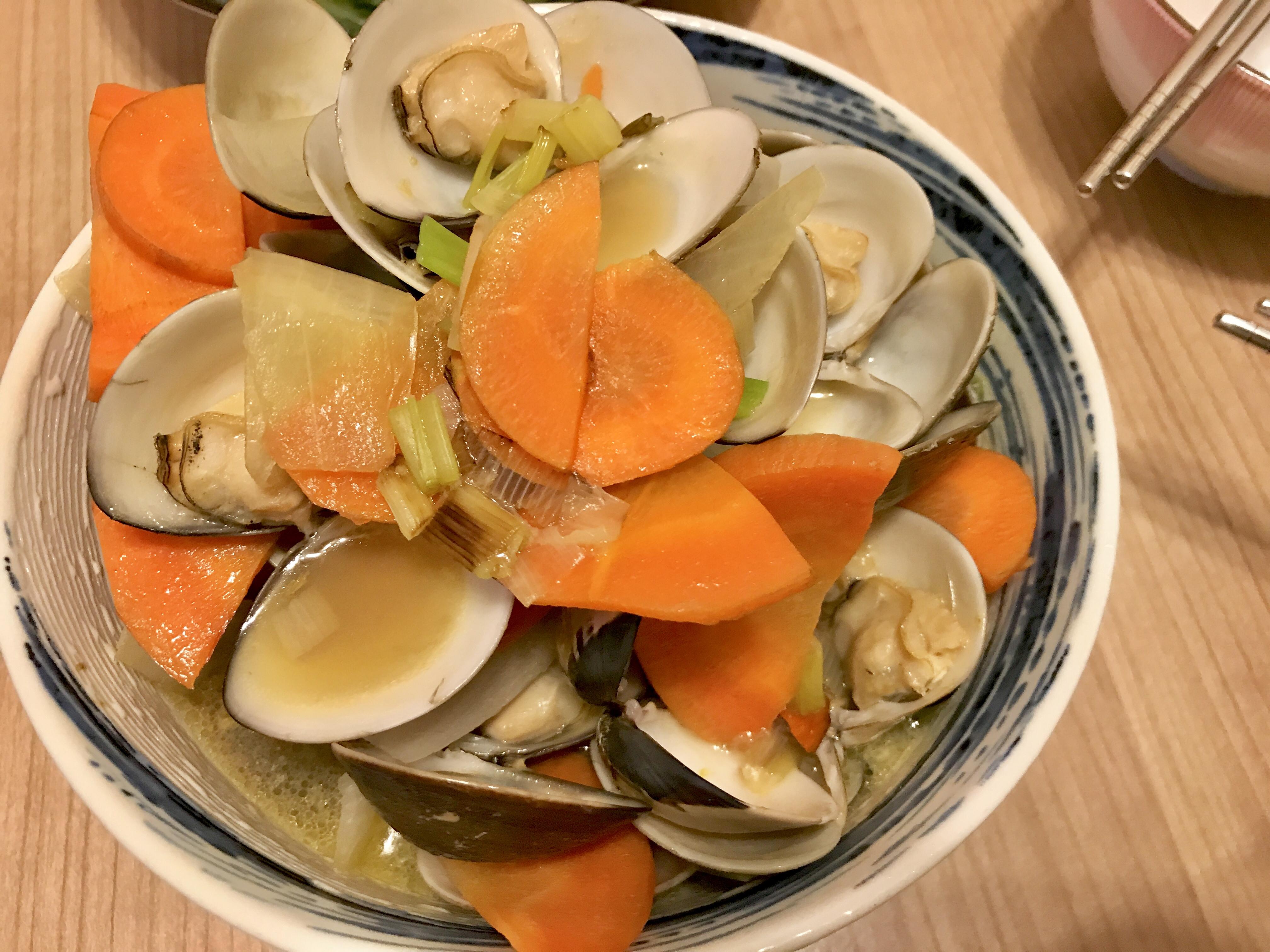 🍶酒蒸蛤蠣(平底鍋料理)