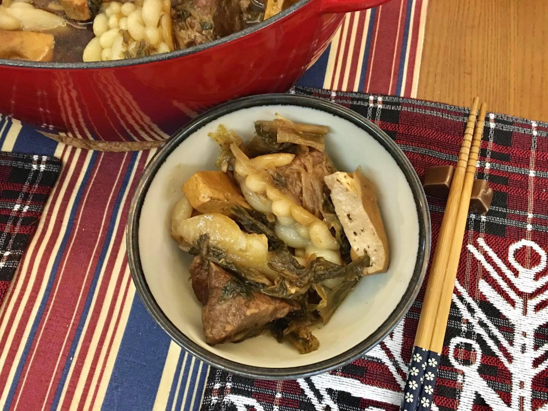 梅乾菜滷肉