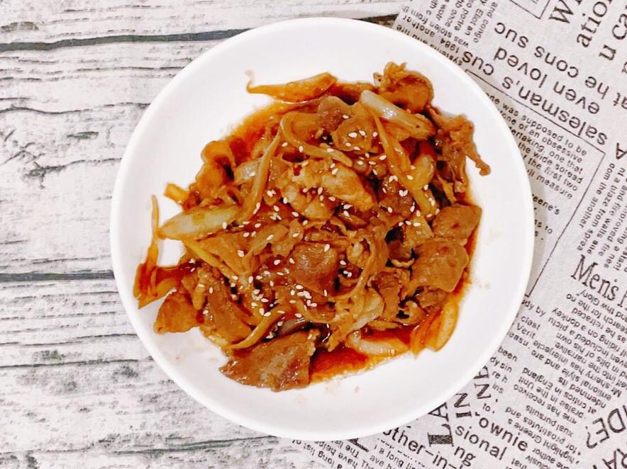 醬燒梅花豬肉片