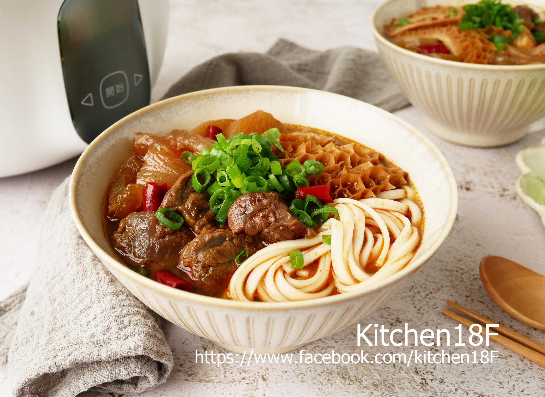 川味三寶牛肉麵_電鍋料理