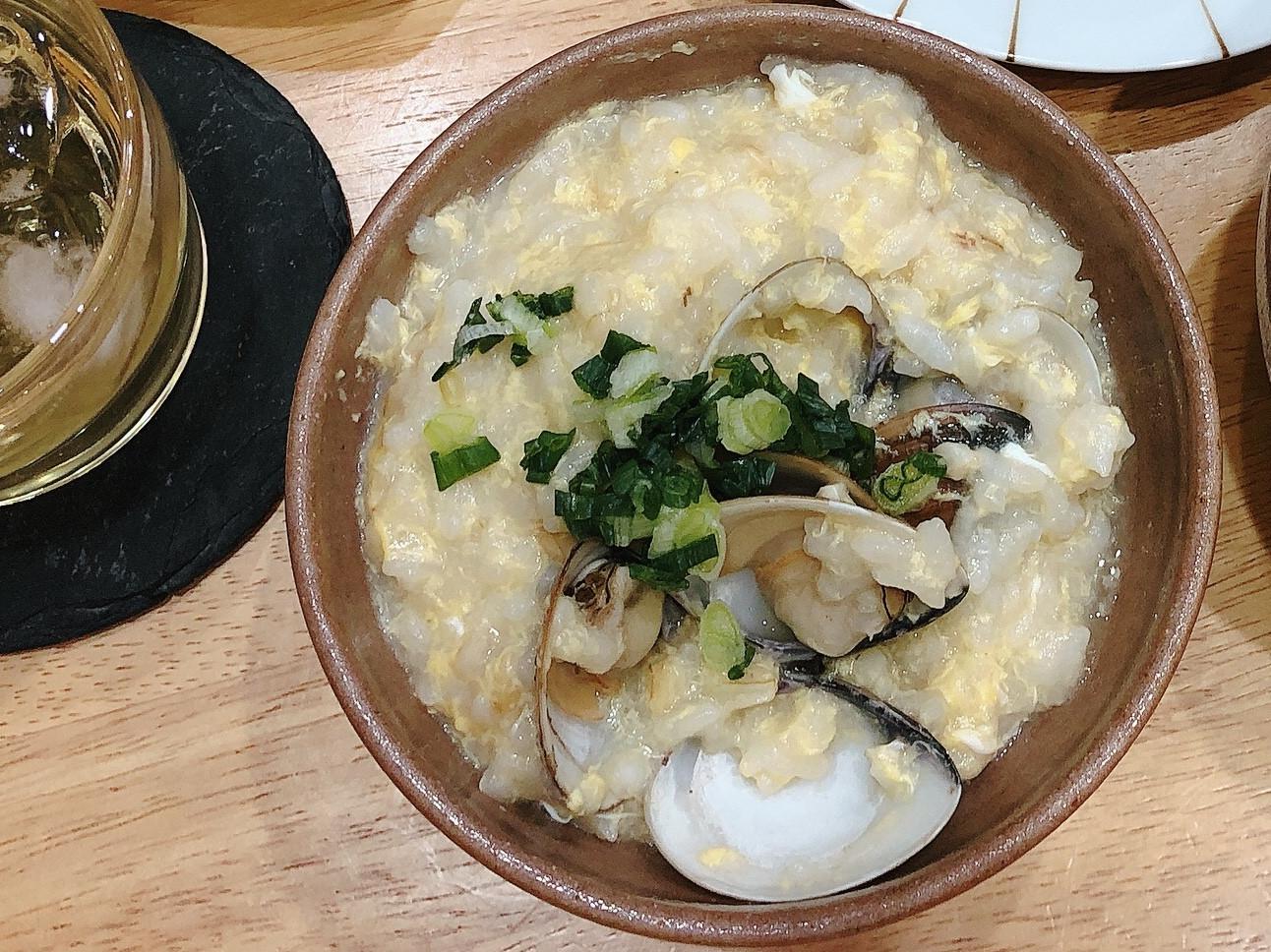 酒蒸蛤蜊粥·懶人料理·