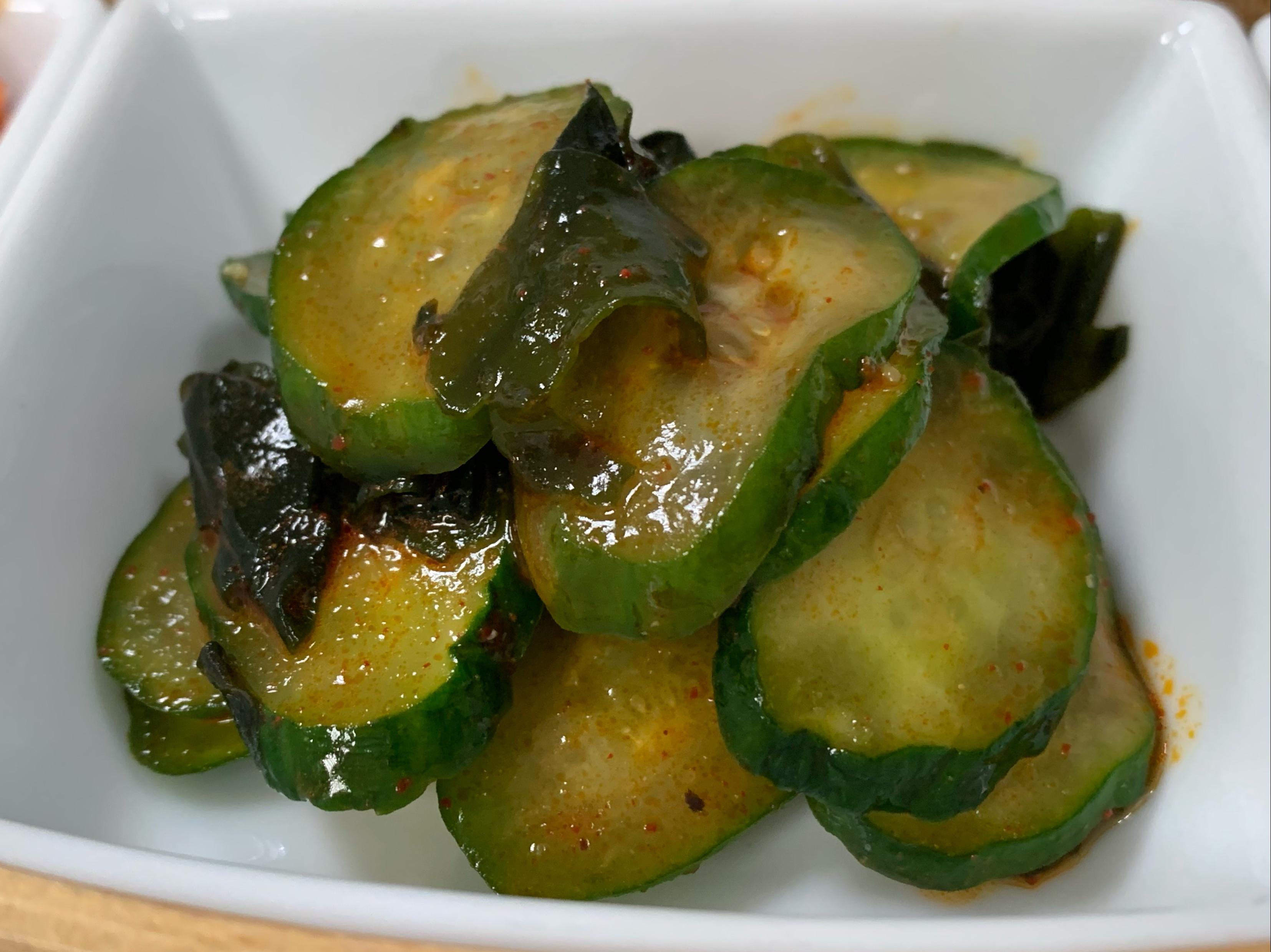 涼食|涼拌小黃瓜*韓國Paldo經典辣醬