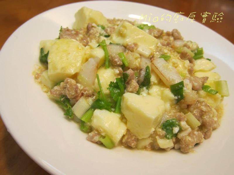 蟹肉蛋豆腐