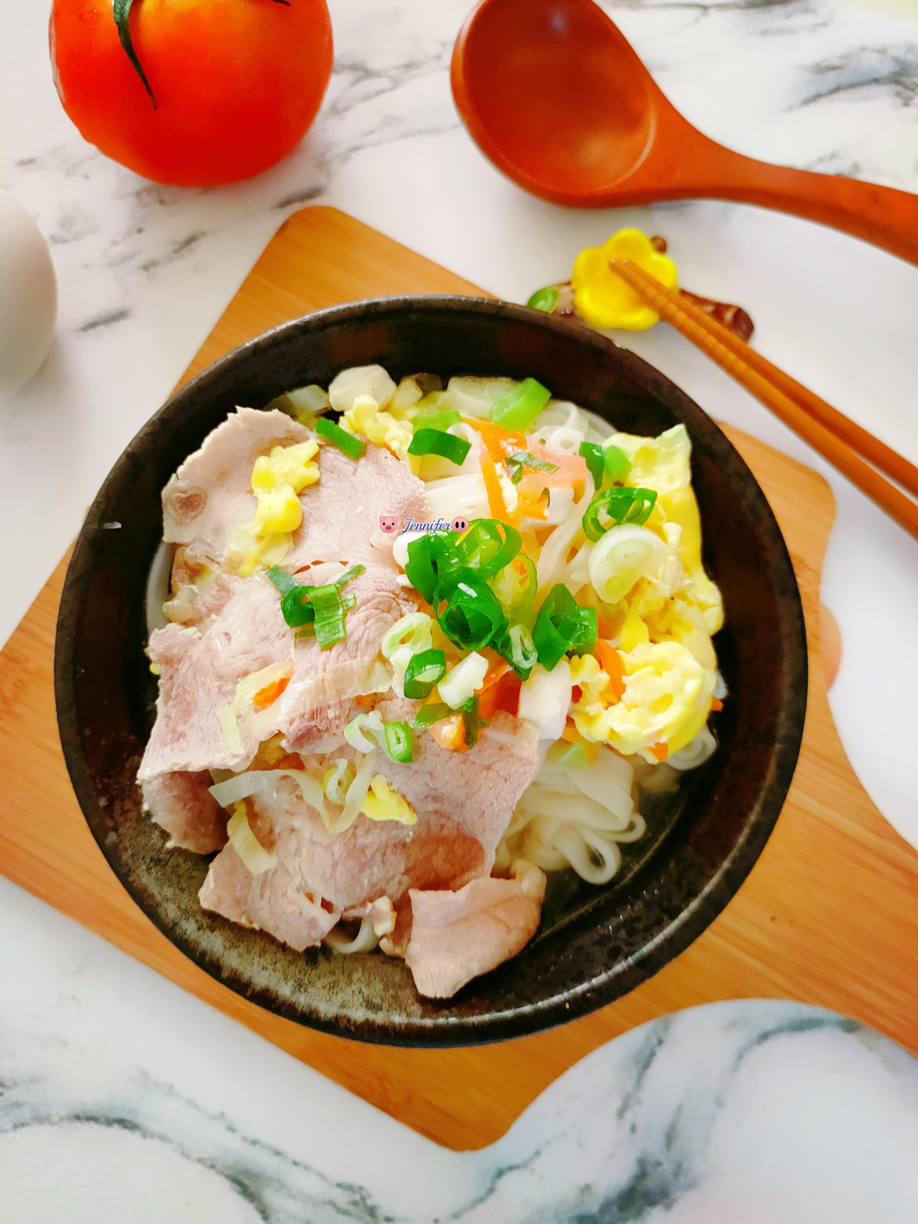 豆腐蕃茄蔬菜麵