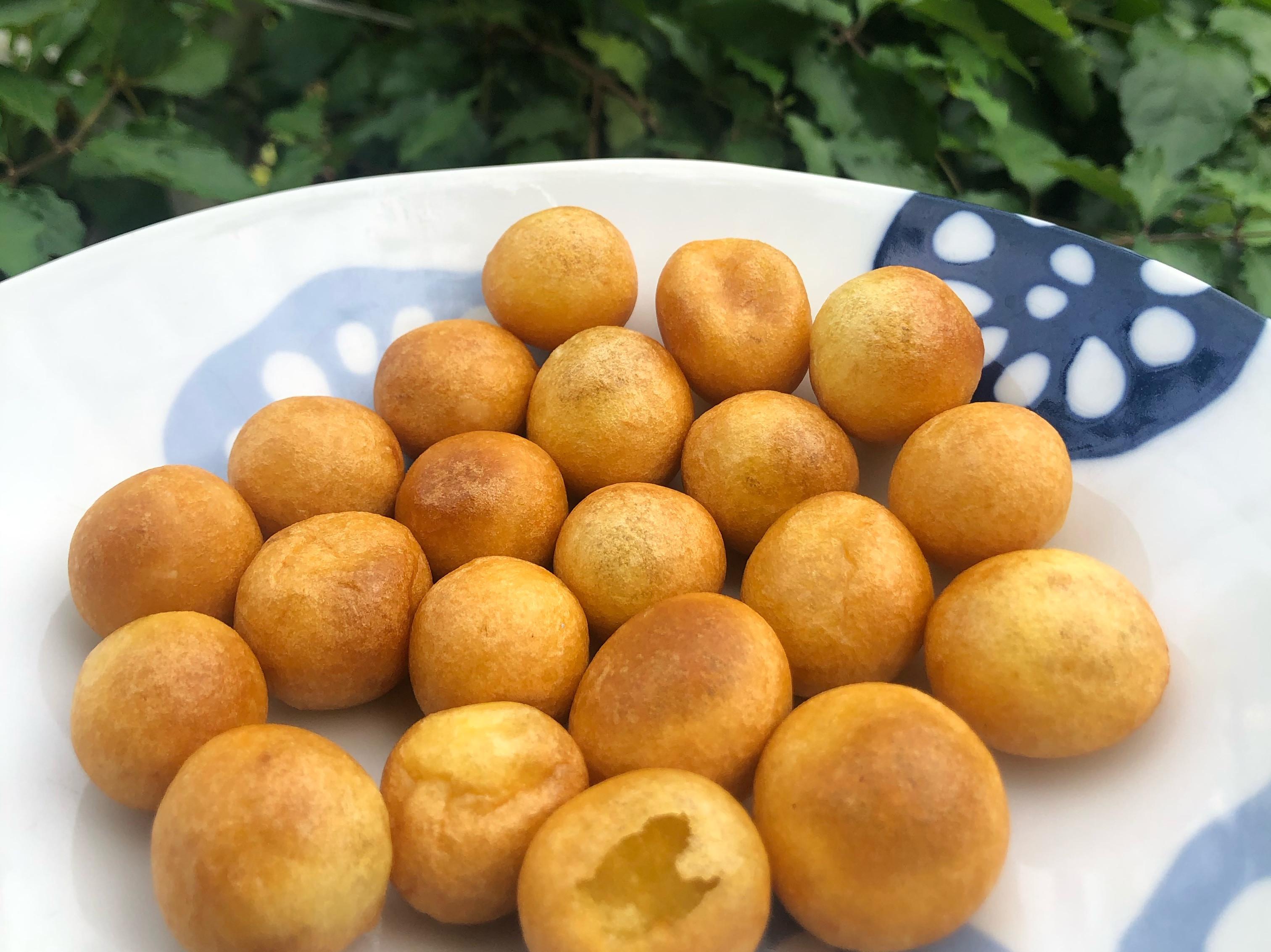 QQ好吃簡單地瓜球