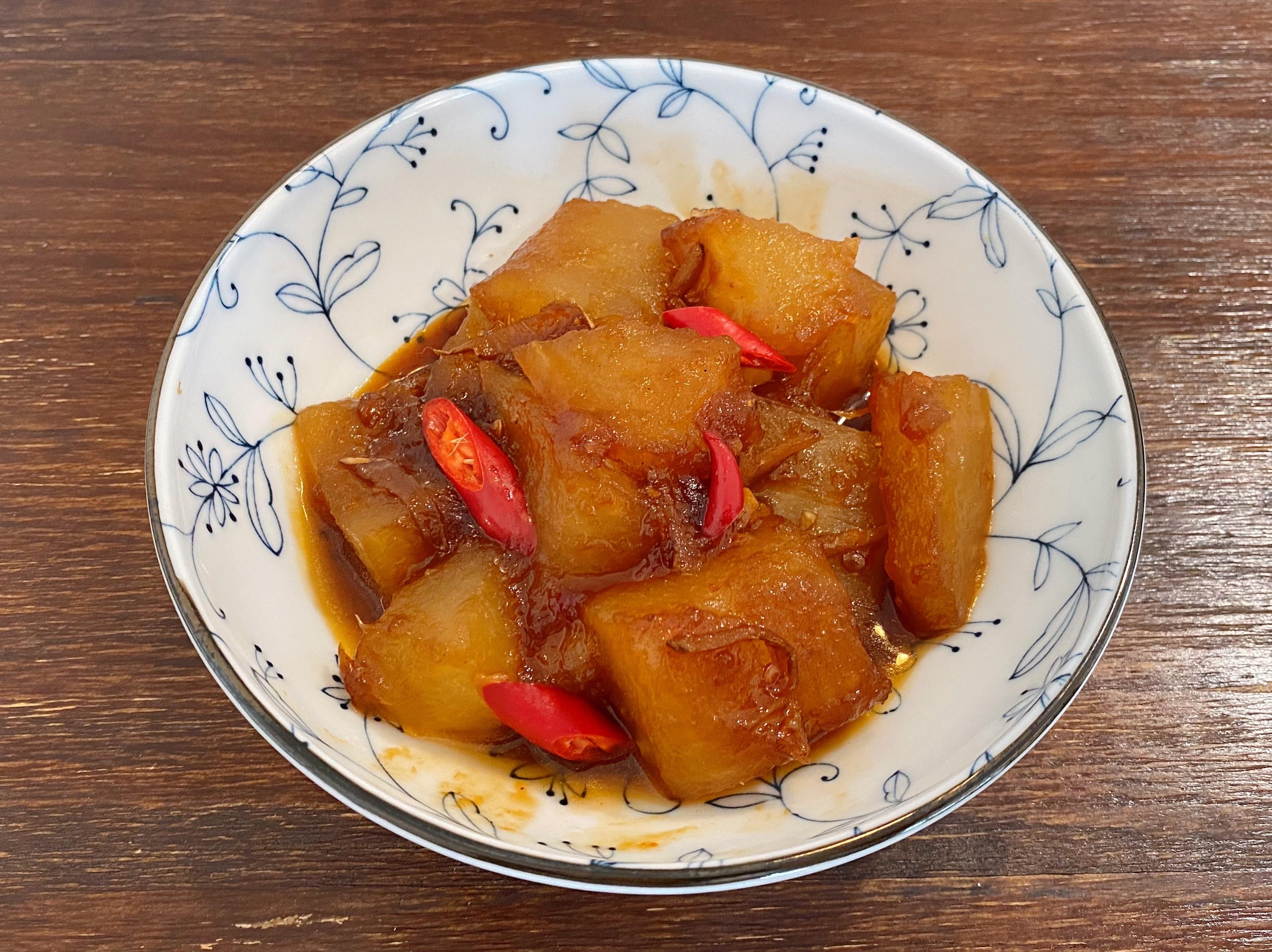 家常菜《醬燒冬瓜》紅燒料理