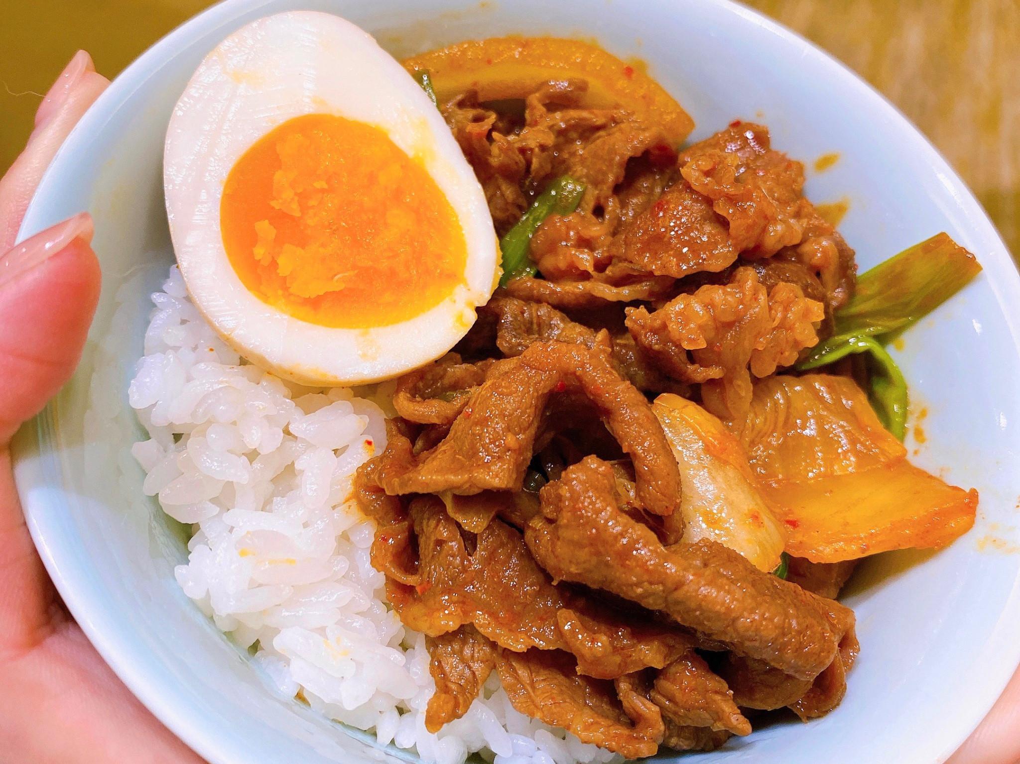 韓式泡菜燒肉飯