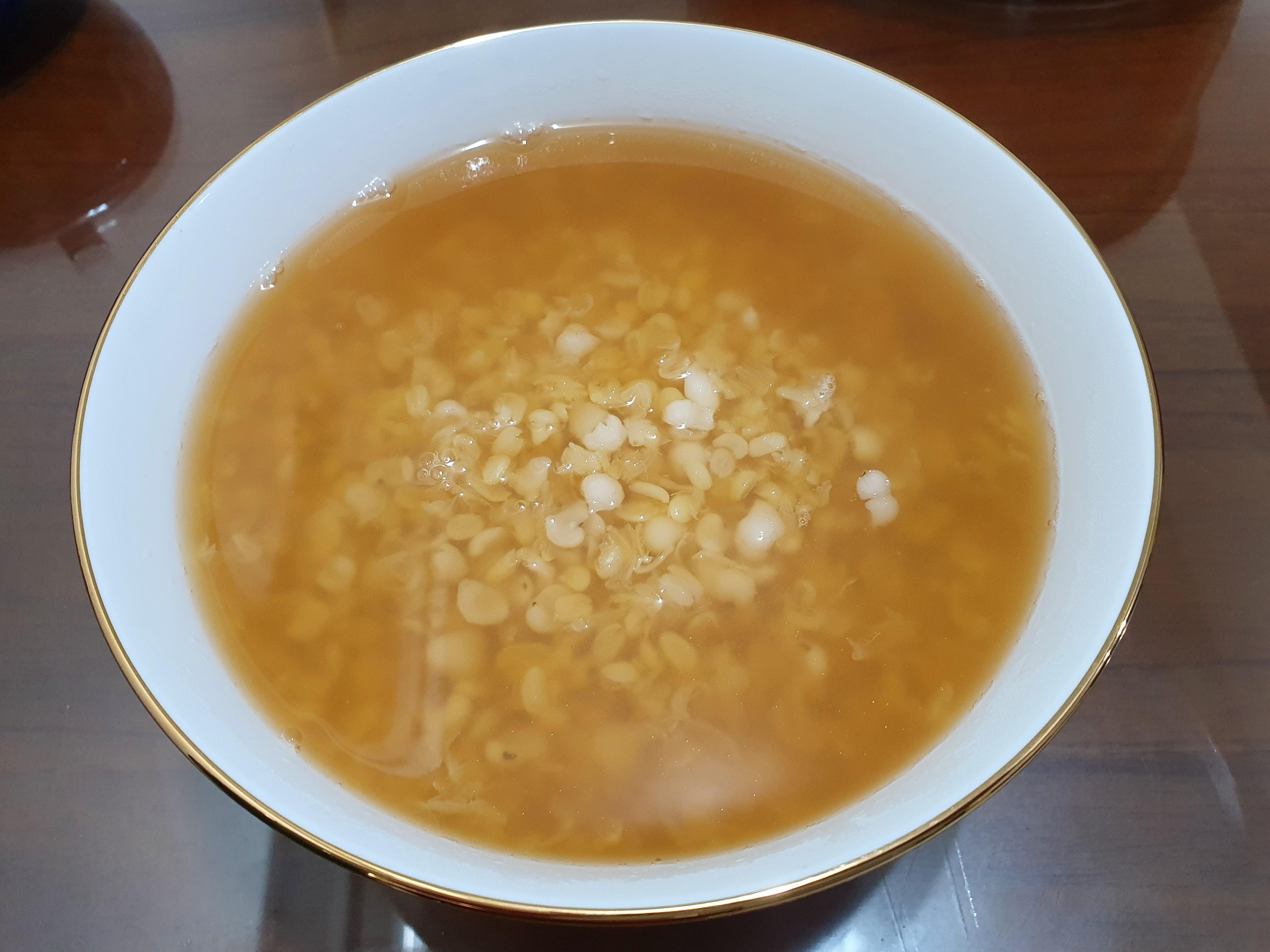 綠豆蒜薏仁湯