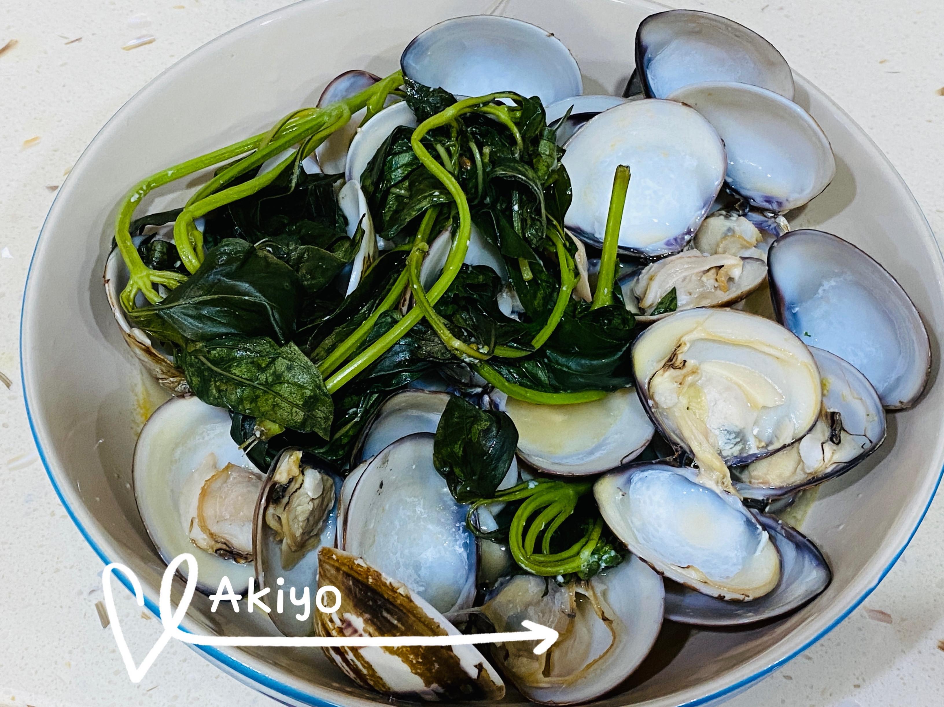 蒜蒸蛤蜊 懶人料理 (電鍋版)