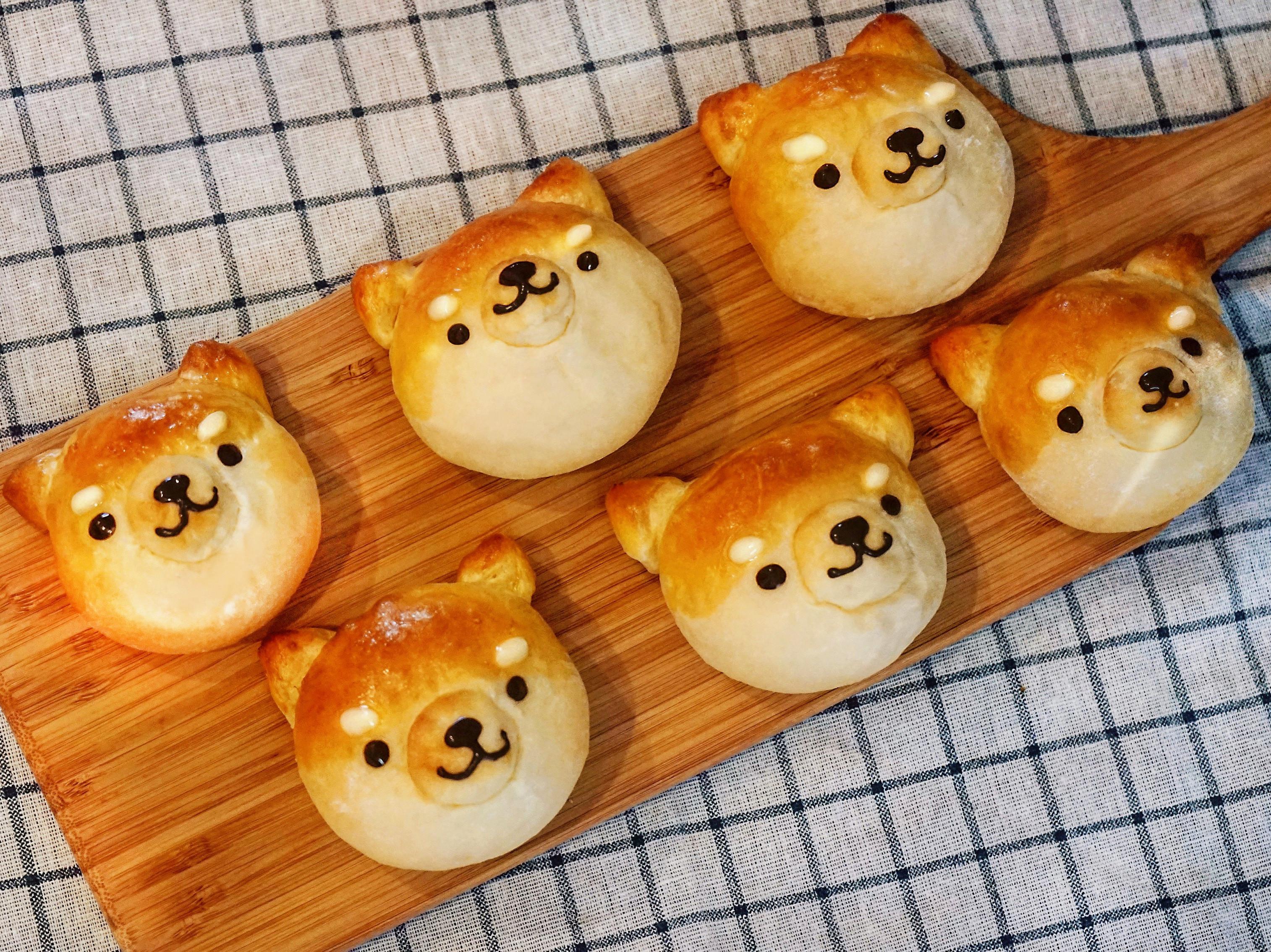 柴犬奶酥麵包