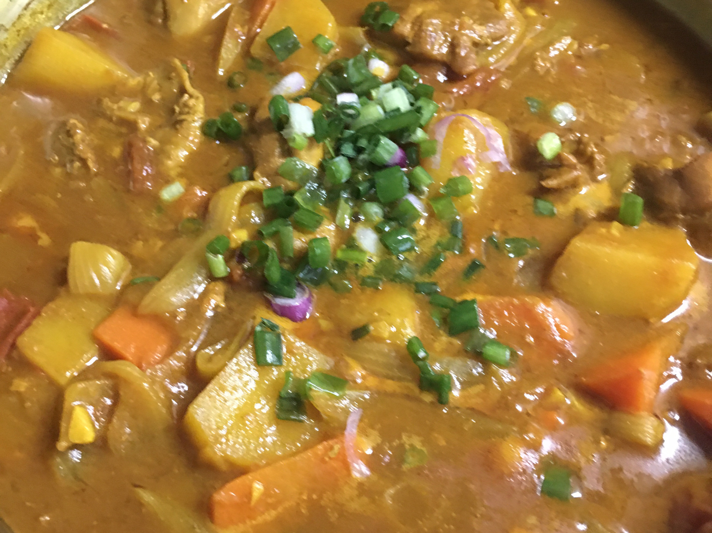 辛辣味的印度咖哩蕃茄雞肉