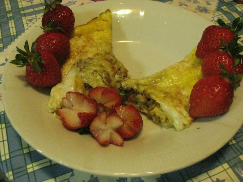 《草莓就愛鷹牌煉奶》法式草莓鷹牌煉奶歐姆蛋