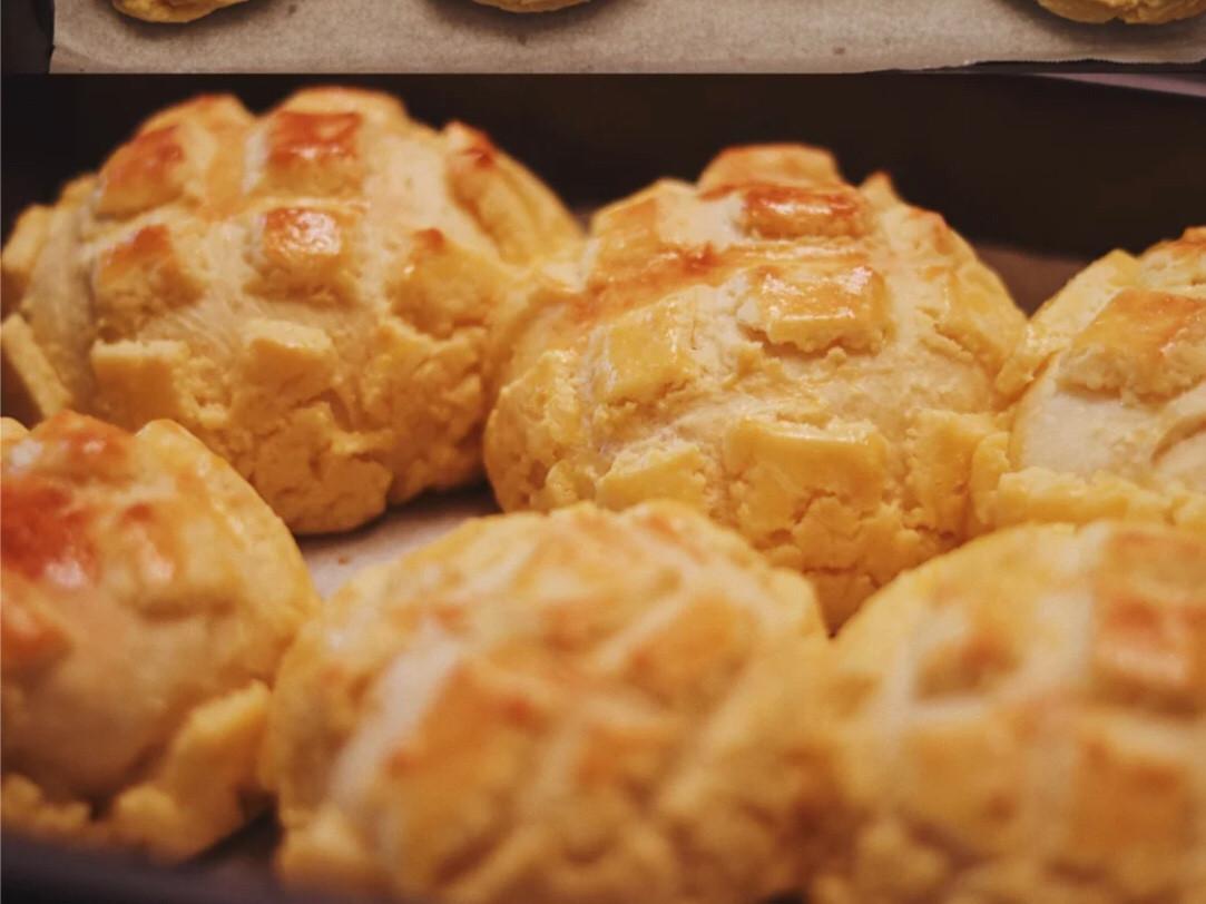 酥皮菠蘿麵包❗️