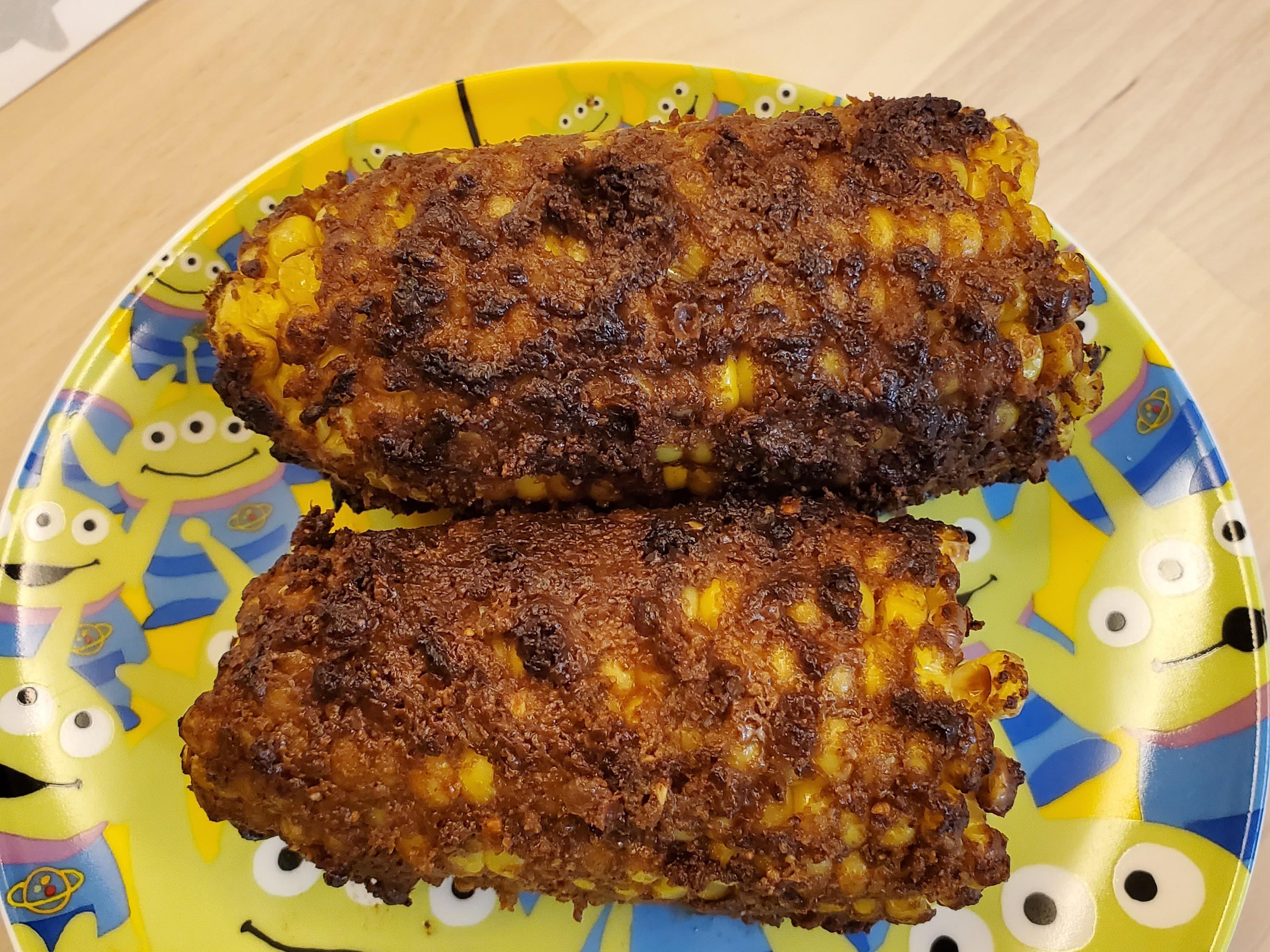 《氣炸鍋》烤玉米