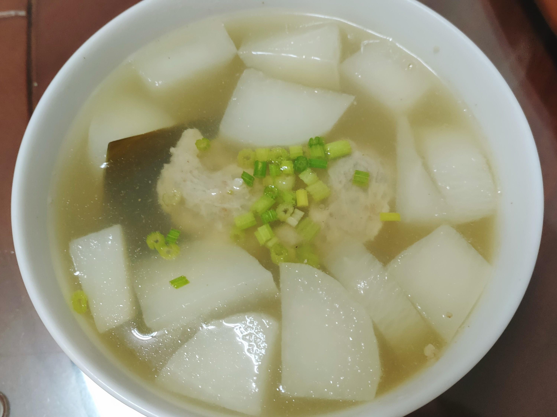 蘿蔔肉羹湯(手工肉羹)