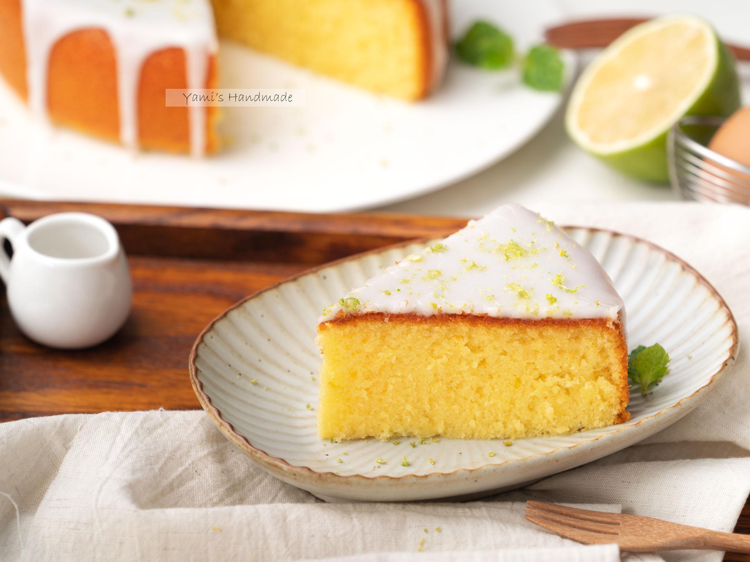 蜂蜜檸檬海綿蛋糕【電子鍋料理】