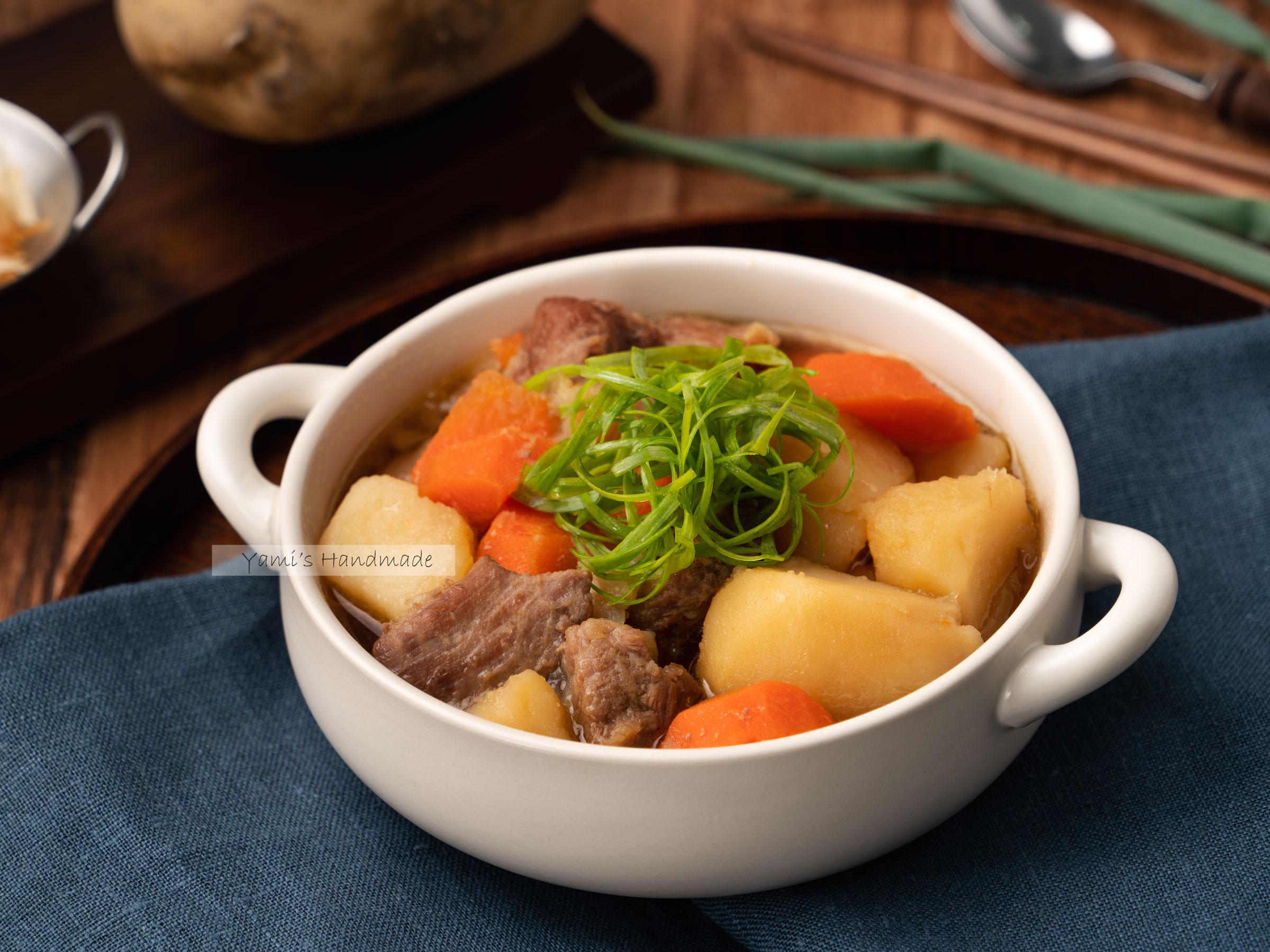 馬鈴薯燉肉【電子鍋料理】