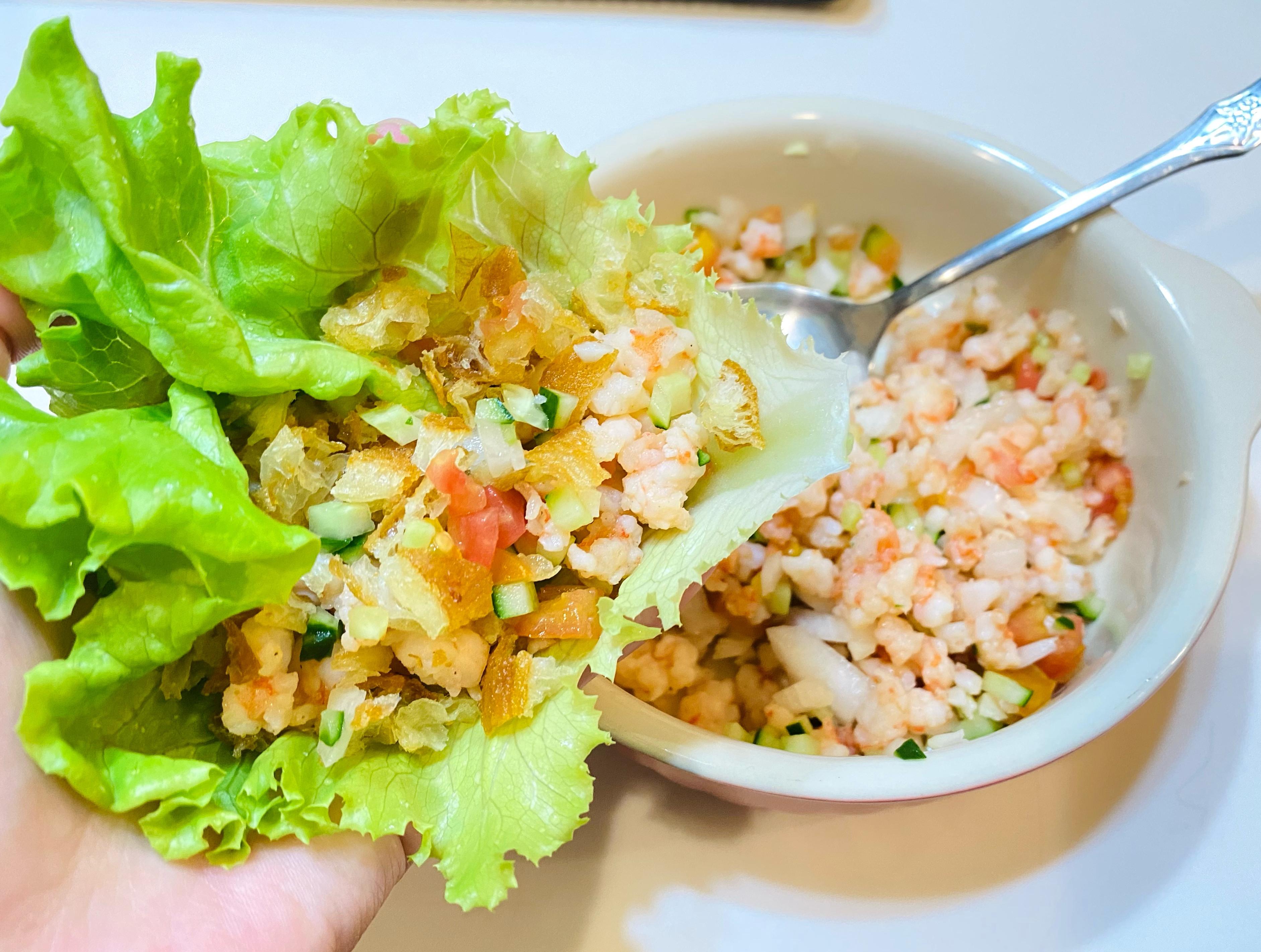 生菜包蝦鬆