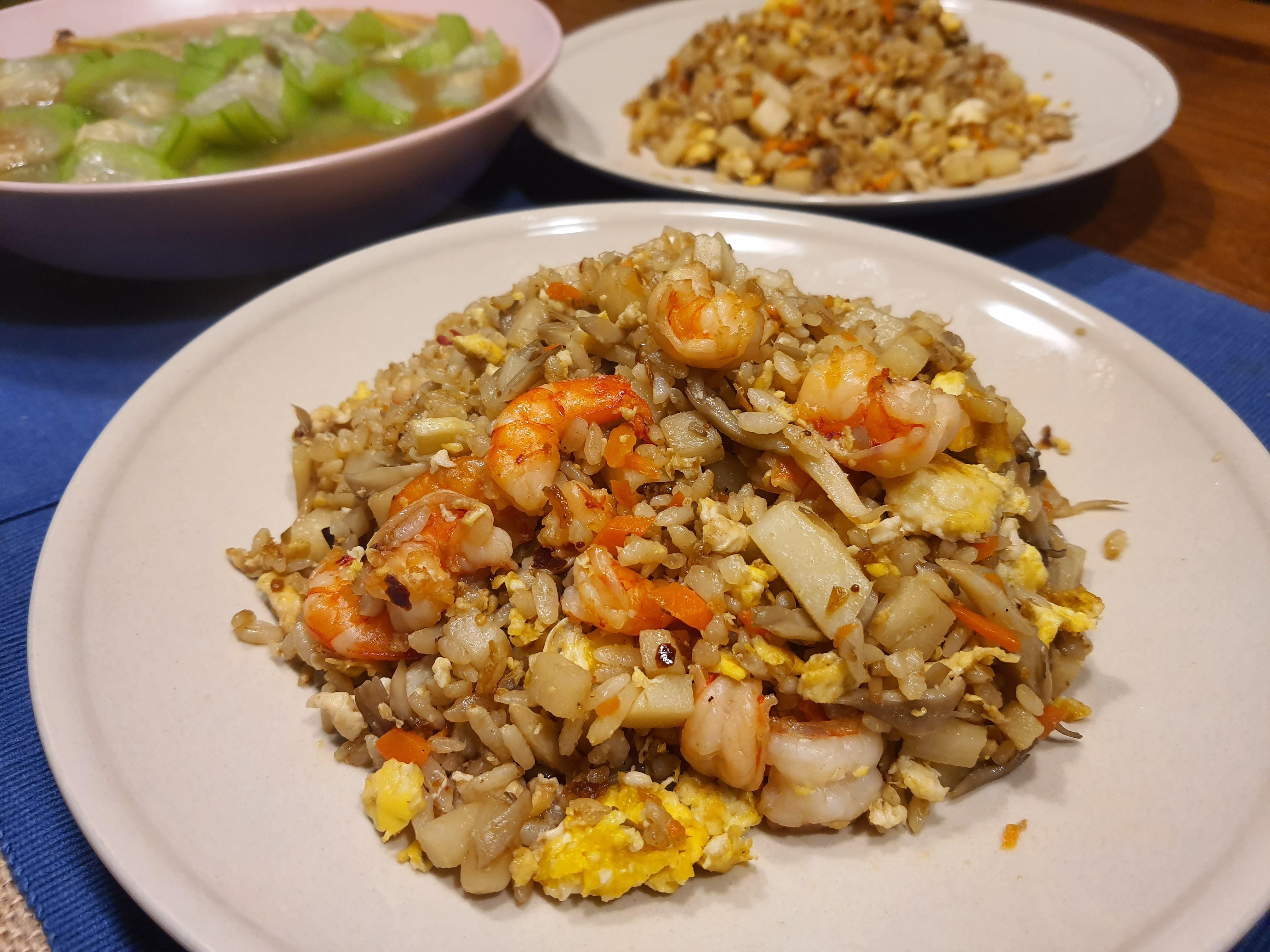 筍香蝦仁炒飯