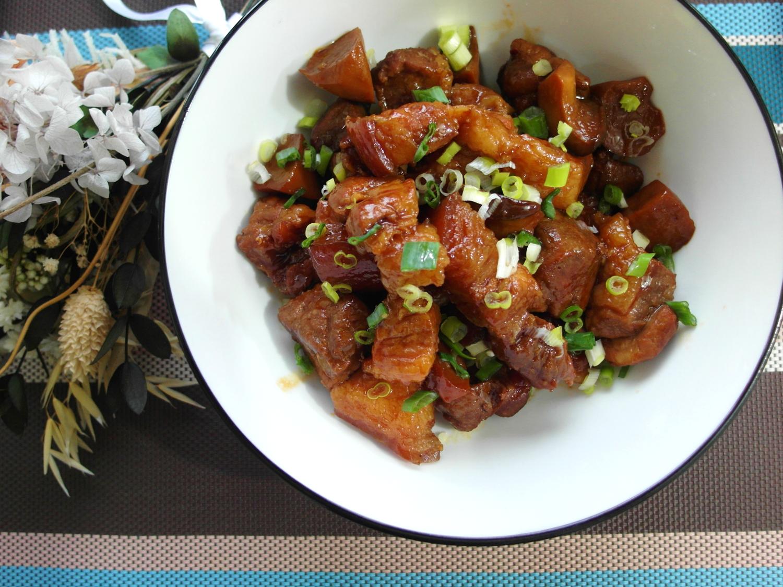 【豬肉料理】杏鮑菇燉肉