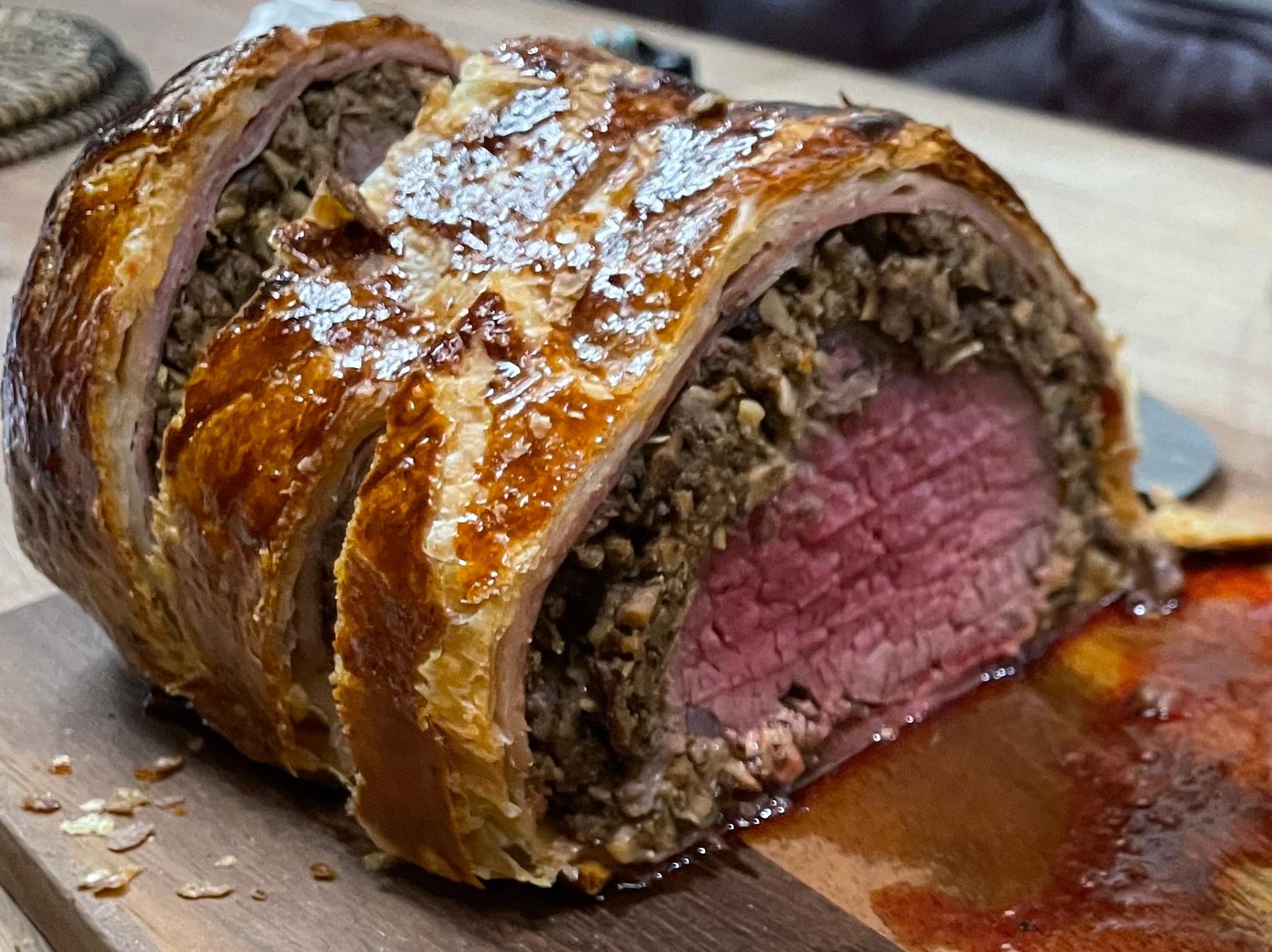 威靈頓牛排Beef Wellington