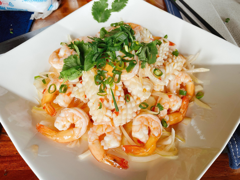 泰式涼拌海鮮(懶人版