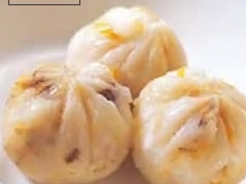 南瓜花生蒸餅(寶寶感冒後期)