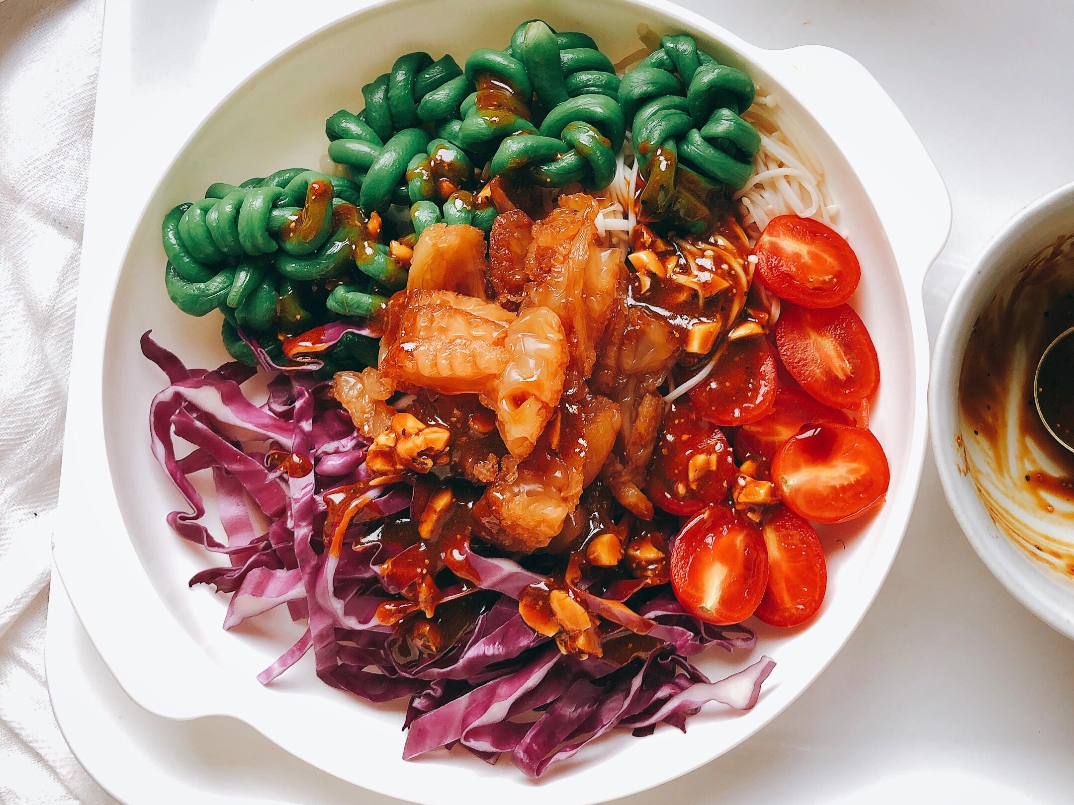 「低卡清爽開胃」繽紛泰式豆角沙拉